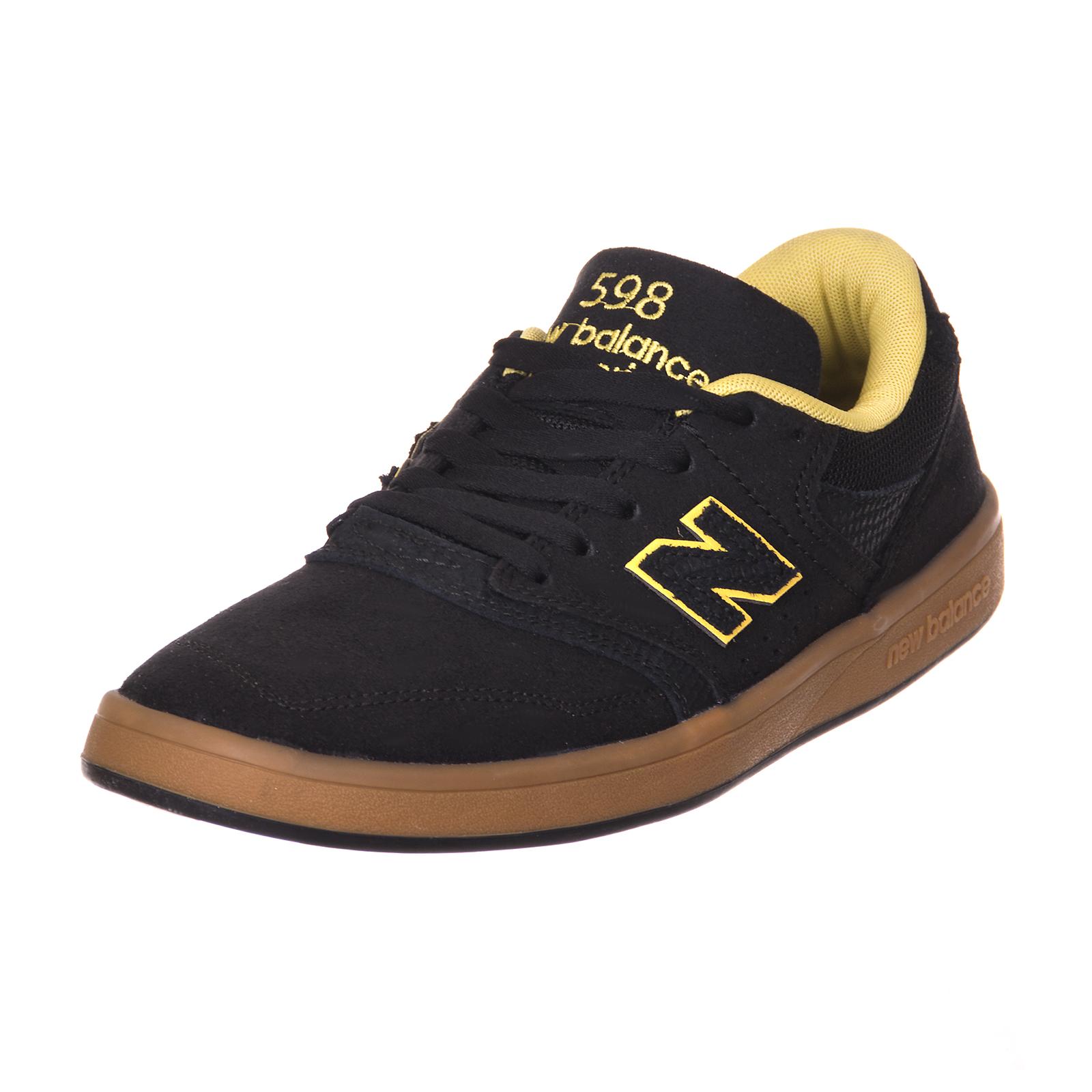 new balance Manturnschuhe chaussure numerische black Veloursleder/mesh