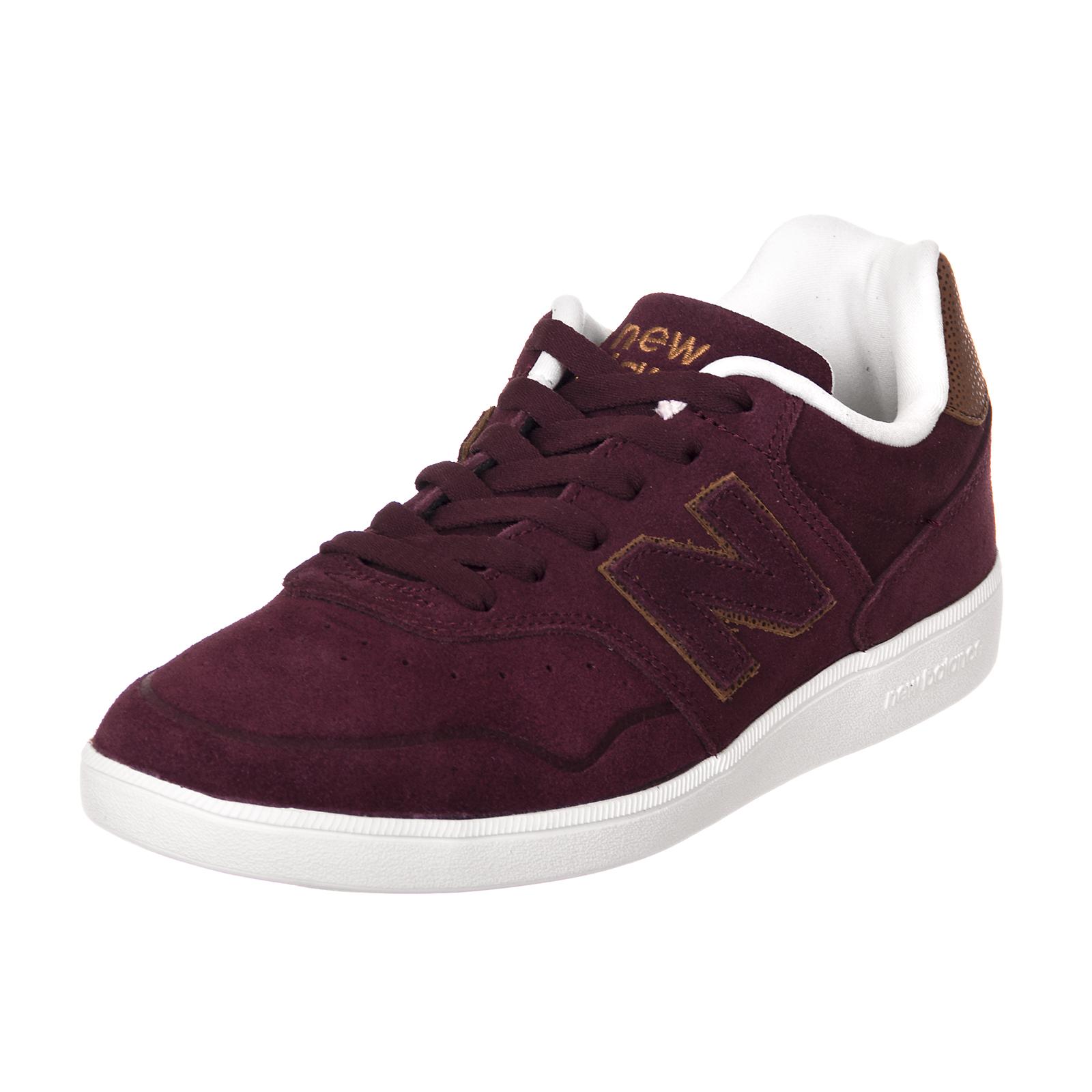 neu Gleichgewicht Manturnschuhe chaussure numerische burgundy Veloursleder/mesh