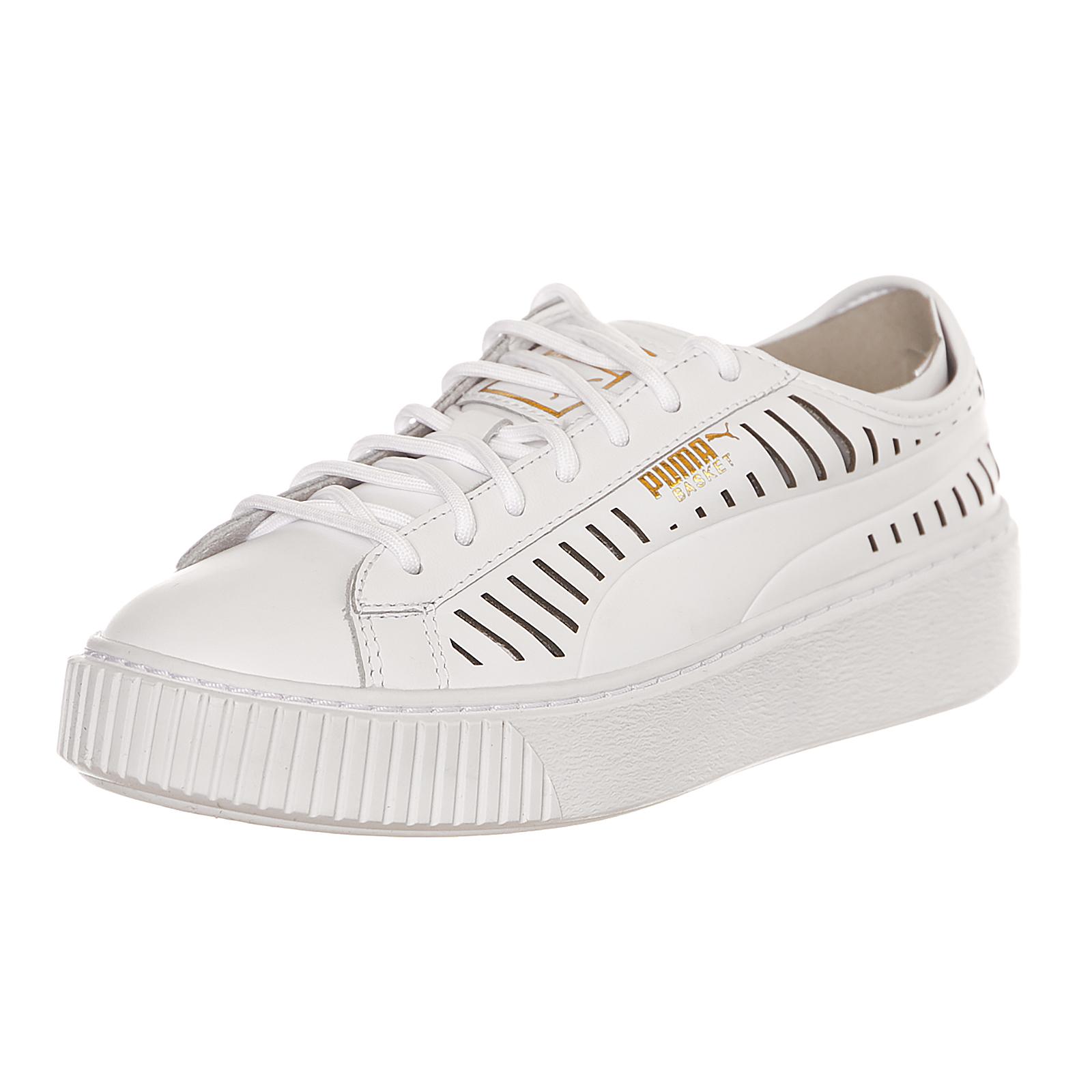 Puma Basket Platform Summer Wn S Puma White White White