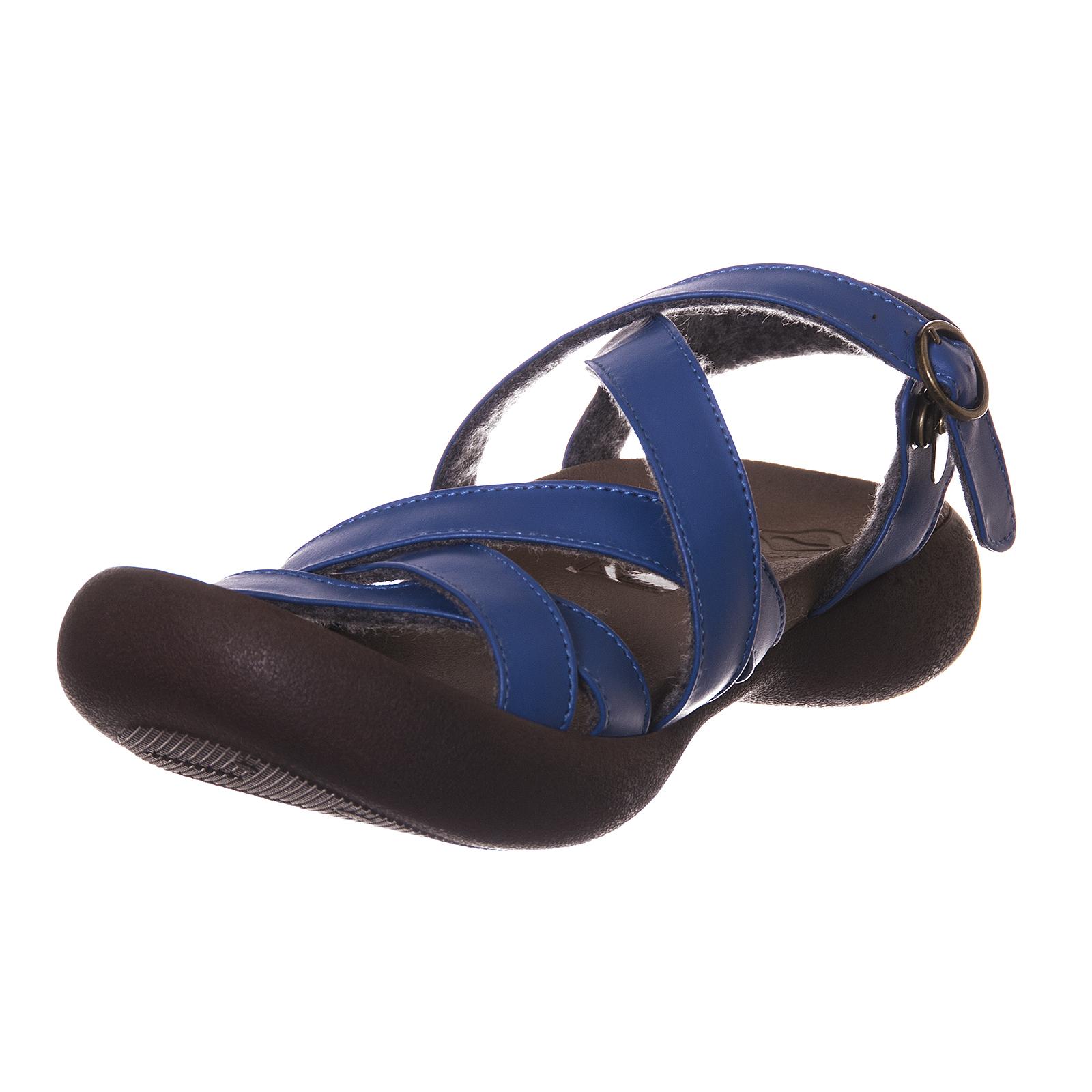 Strap Canoes women's sandals W Field Arum bluee bluee bluee