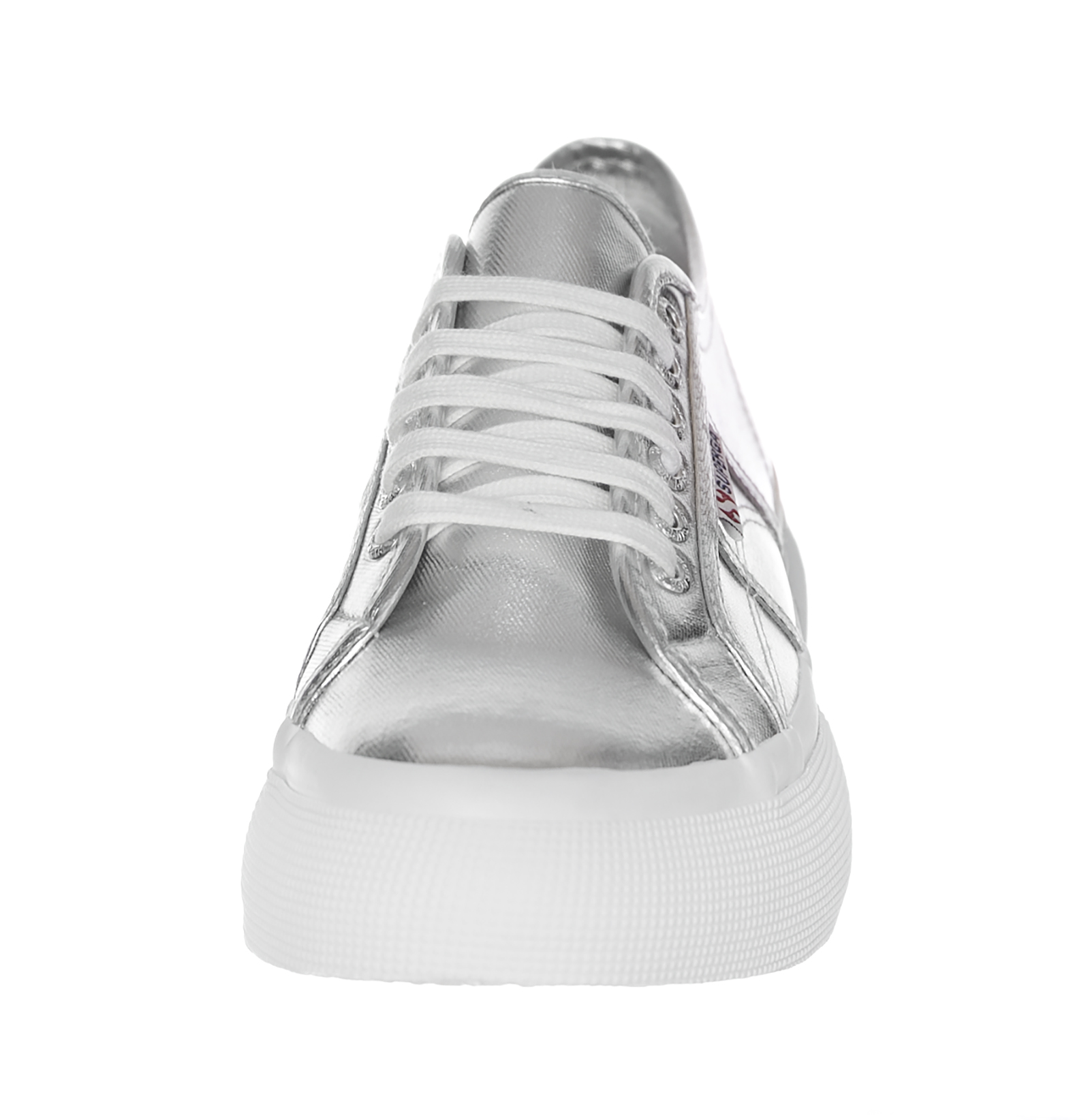 superga 2287-Cotmetw grau Silber Silber Silber