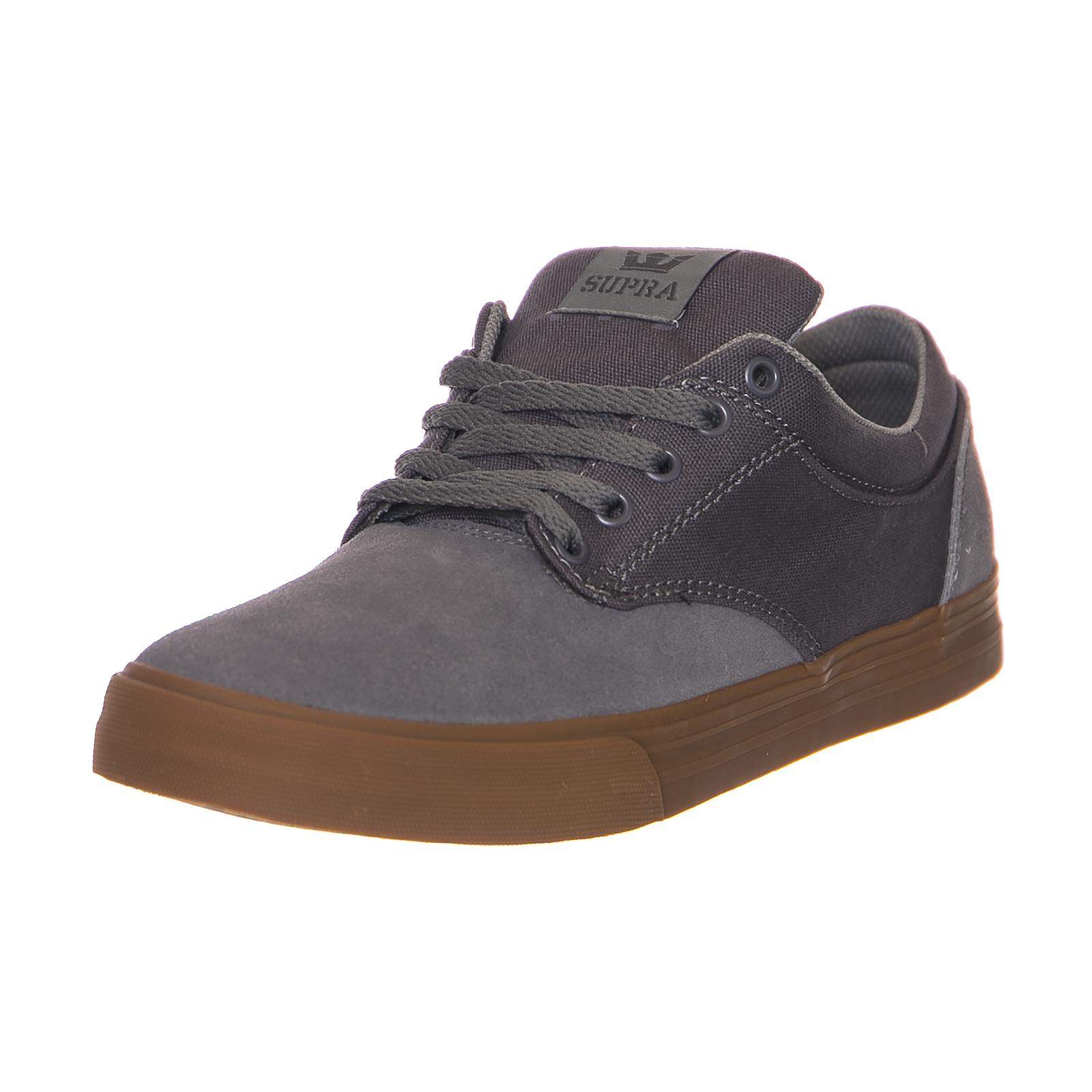 Supra Turnschuhe chino graue gum crown grau