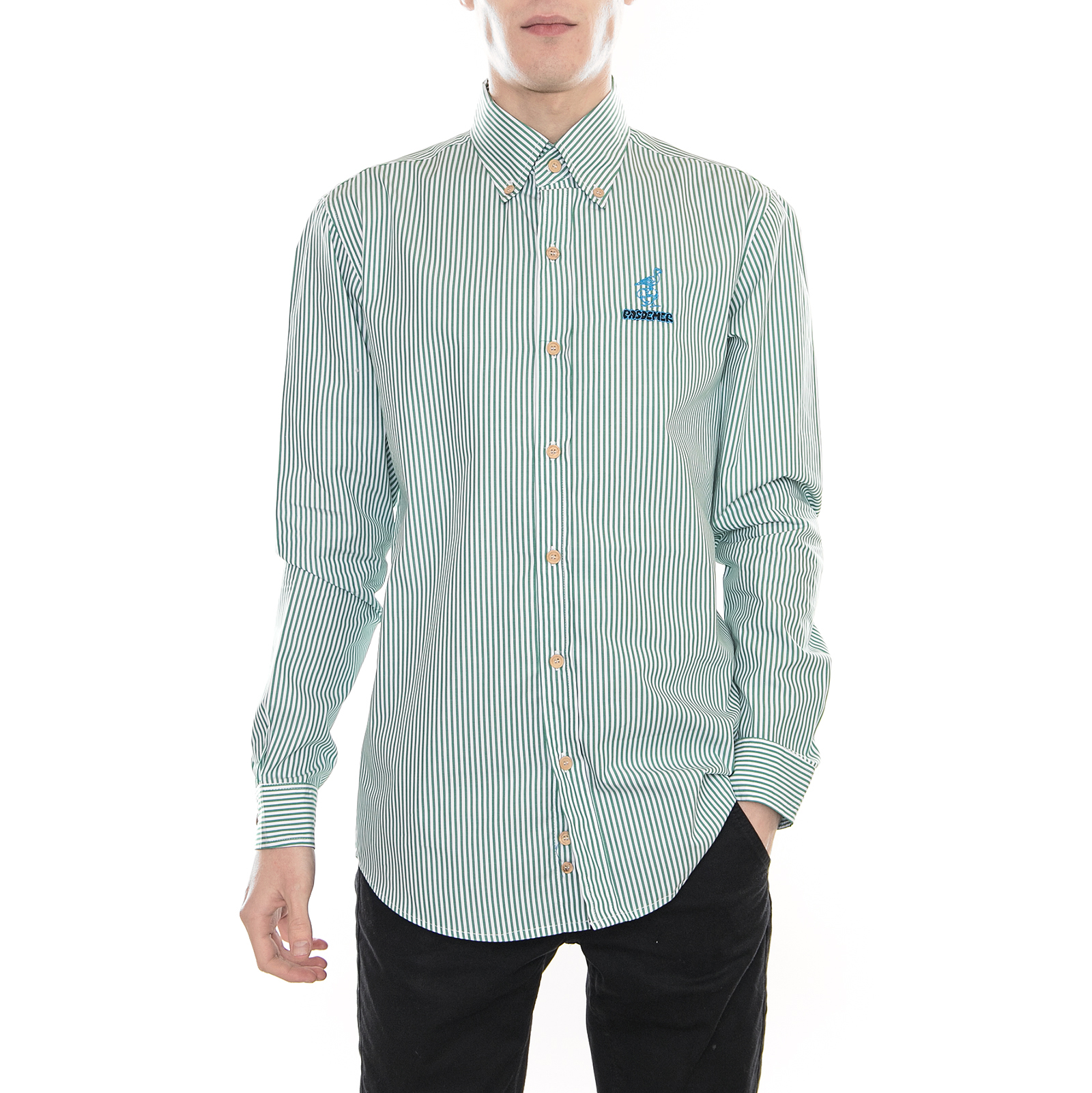 Pasdemer Camicie Fountain Shirt  Bianco