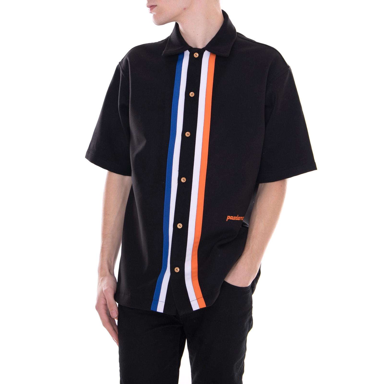 Pasdemer Camicie Tuco Short Sleeve nero Nero
