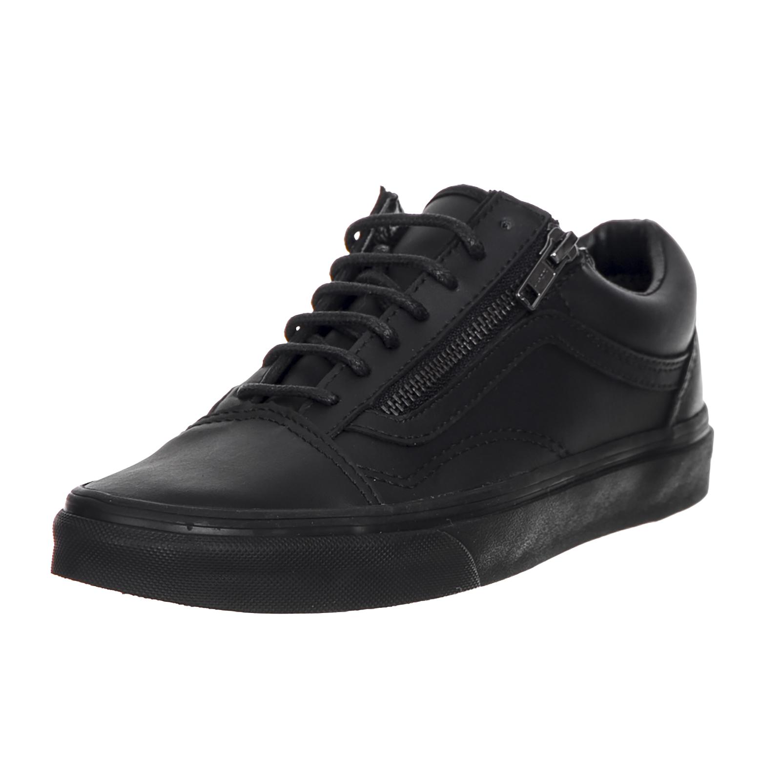 Détails sur Vans Sneakers U Old Skool Zip (Gunmetal) Blac