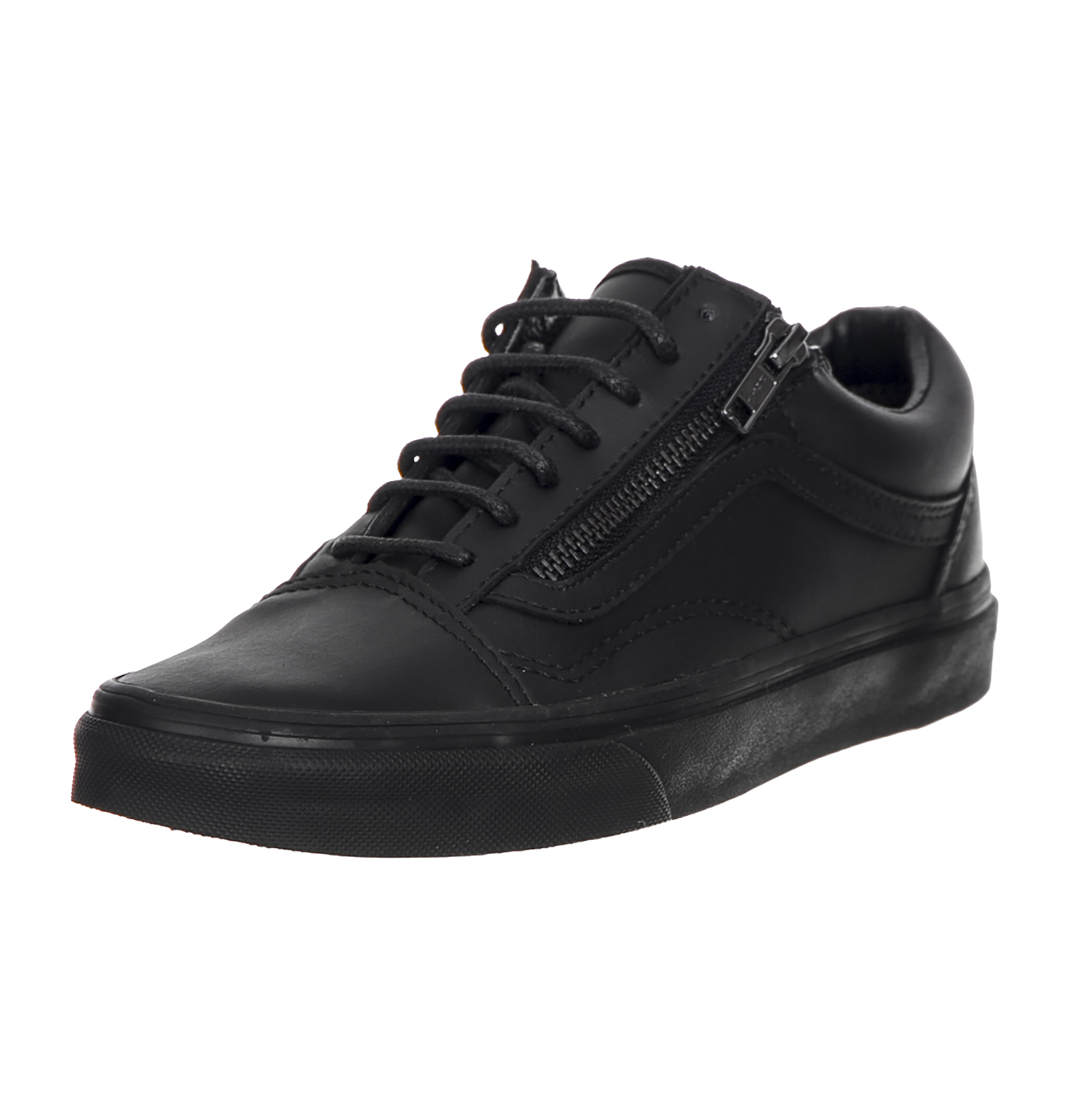 vans sneakers u old skool zip gunmetal blac ebay. Black Bedroom Furniture Sets. Home Design Ideas