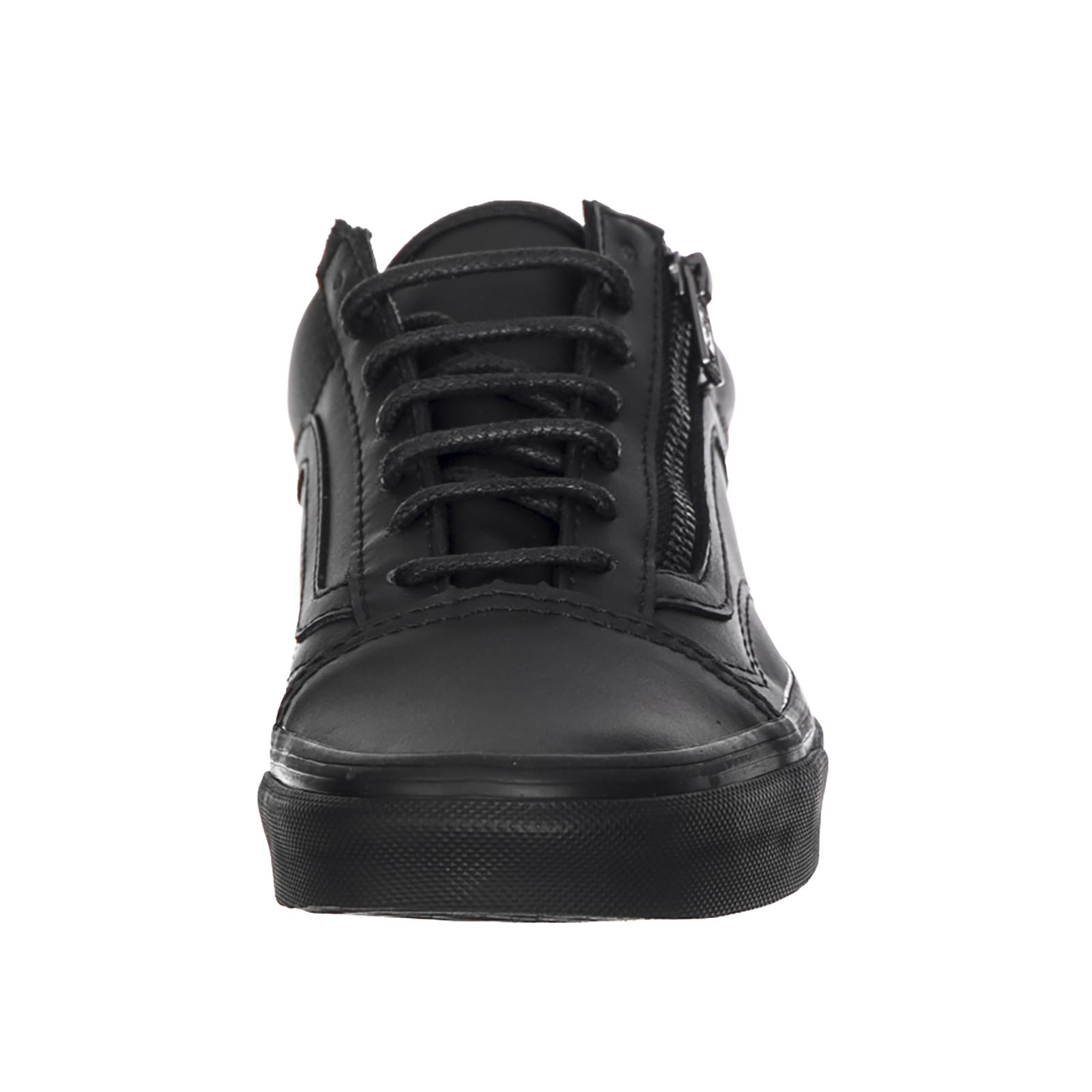 U Old Sneakers Skool Vans gunmetal Blac Zip ZwAqZd5x
