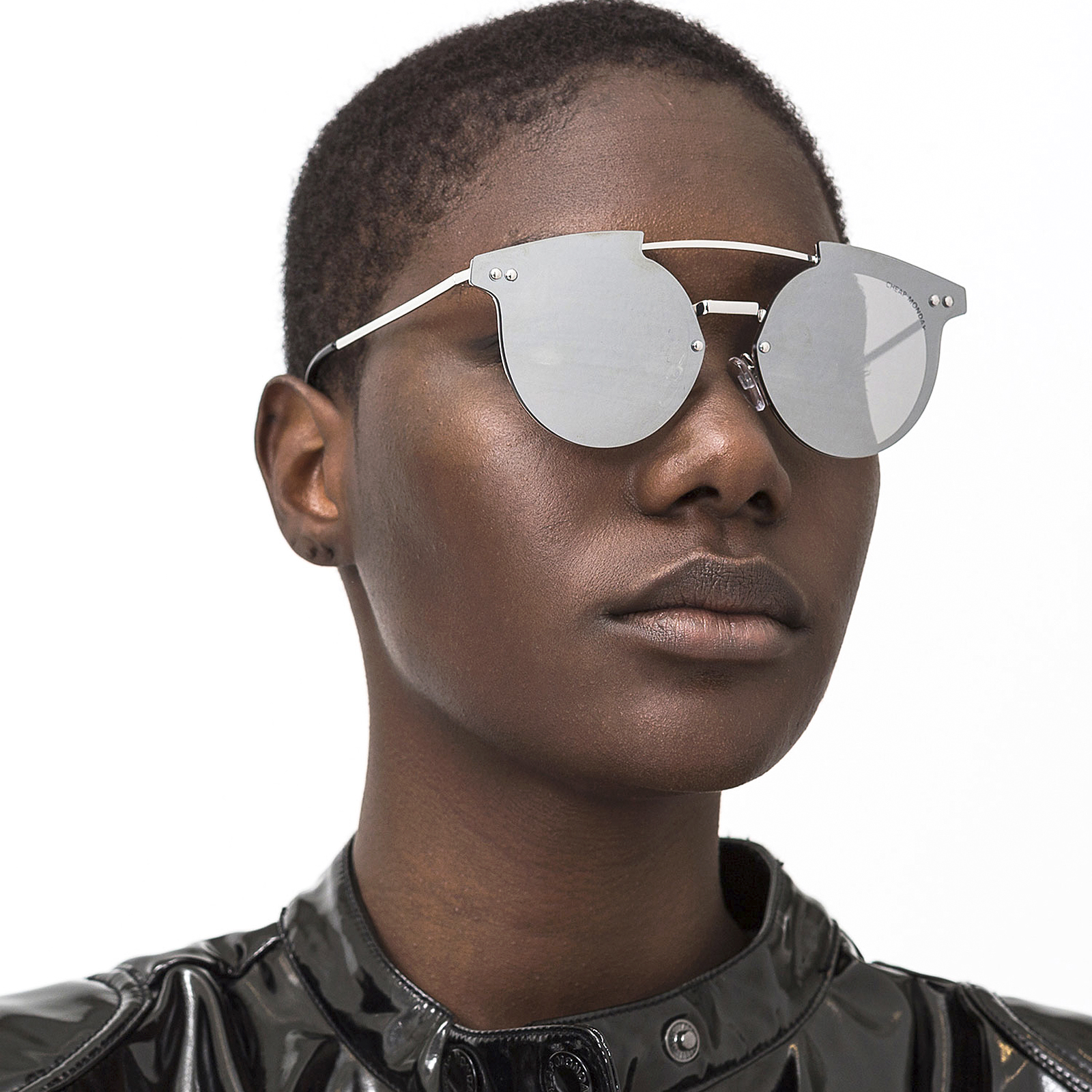 Sunglasses About Cheap Monday Details Silver Alpha HDE2I9