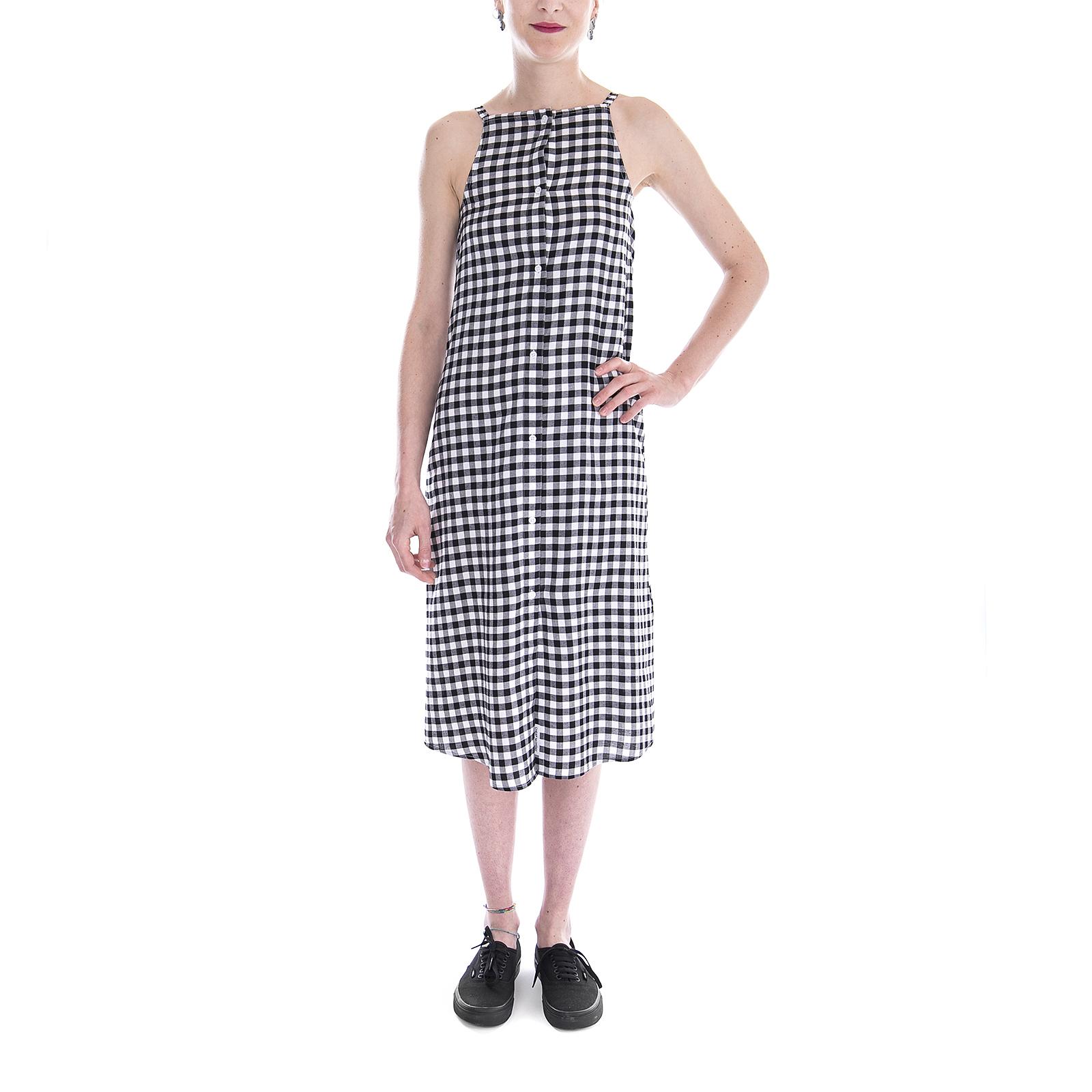 Nero Dress Nero Check Vestiti Track Gingham Monday Cheap qYSt0xff