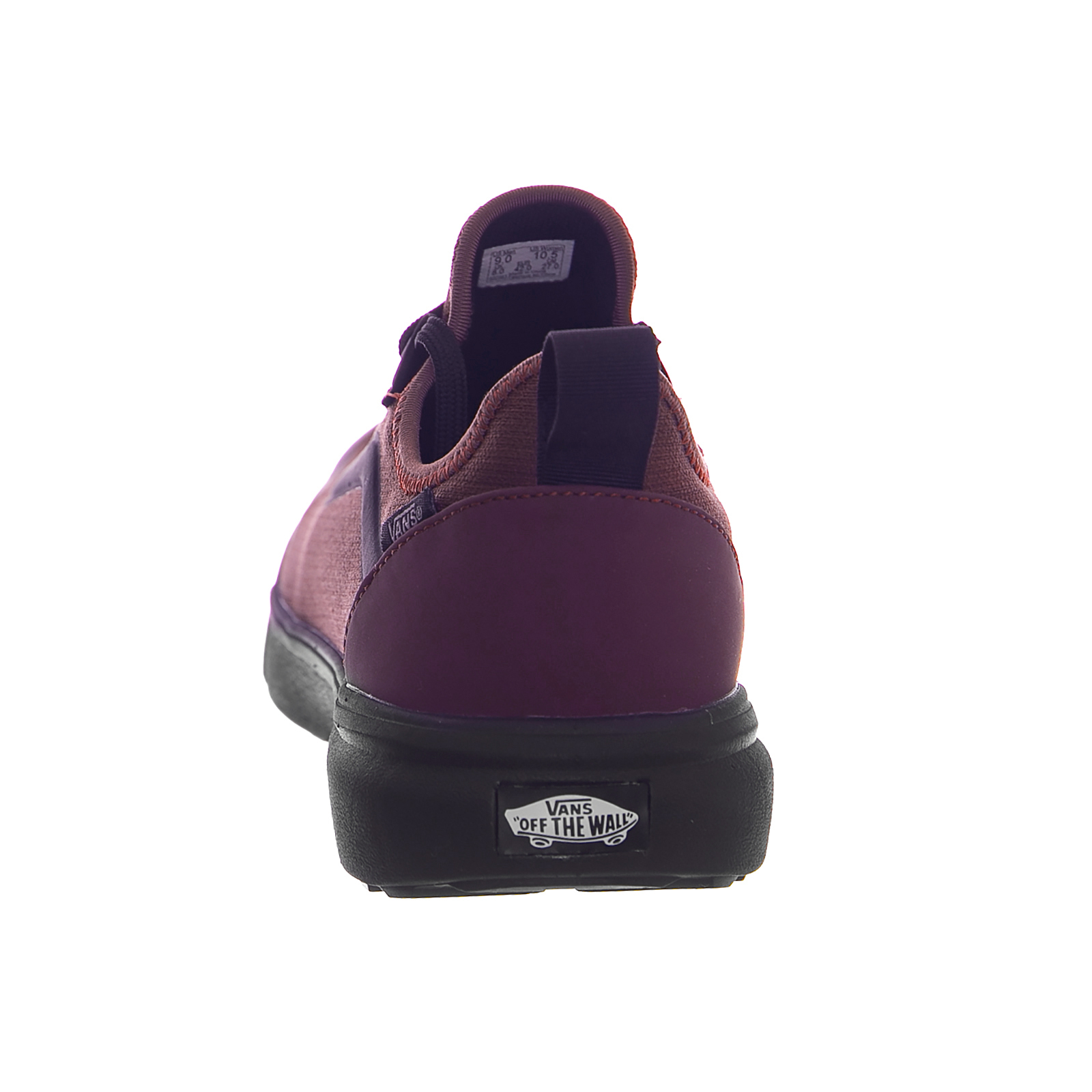Vans Sneakers Ua Ultrarange Ac Catawba Grape Black Burgundy  8f36beb4950