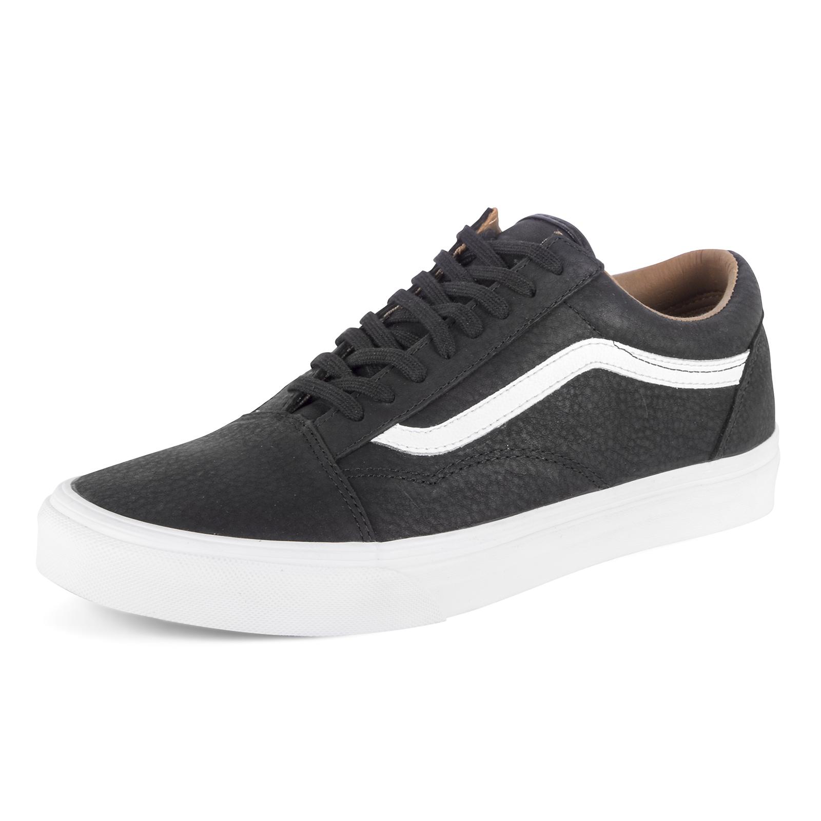 VANS Schuhe UA old skool (premium leather) black / weiß