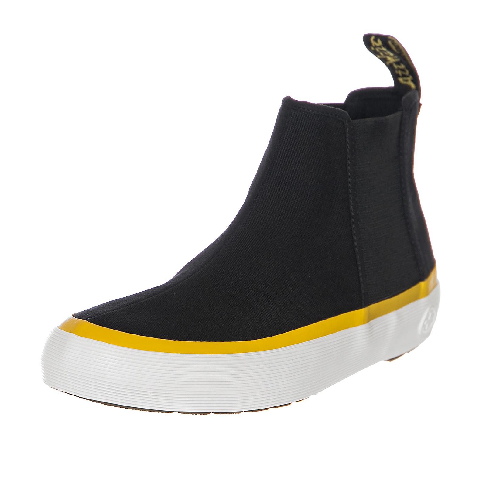 b446c3f3ecc Dr.Martens Sneakers Phoebe Black  Dark Red Canvas Black