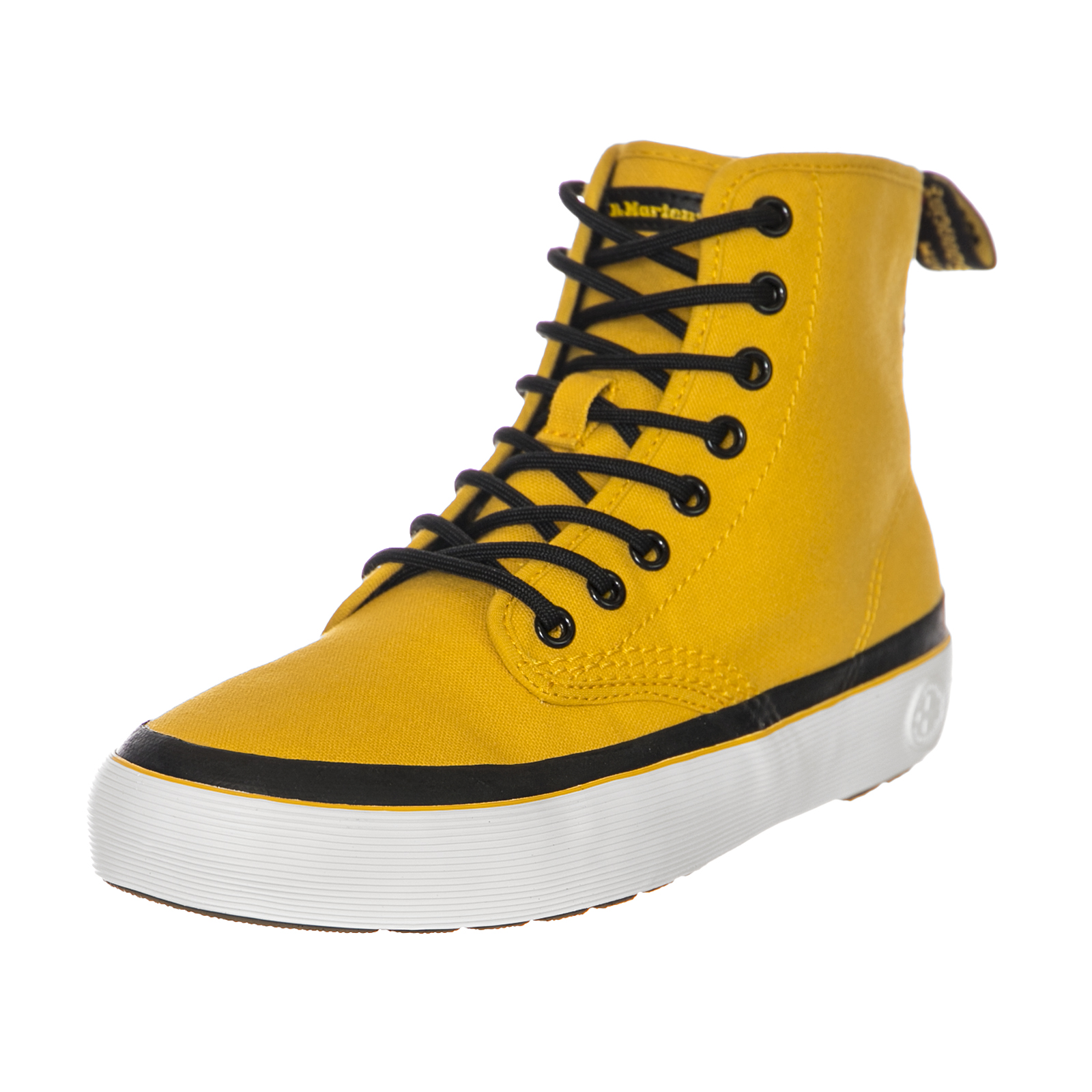 Dr.Martens Sneakers Monet Dms Yellow Dark Red Canvas Yellow