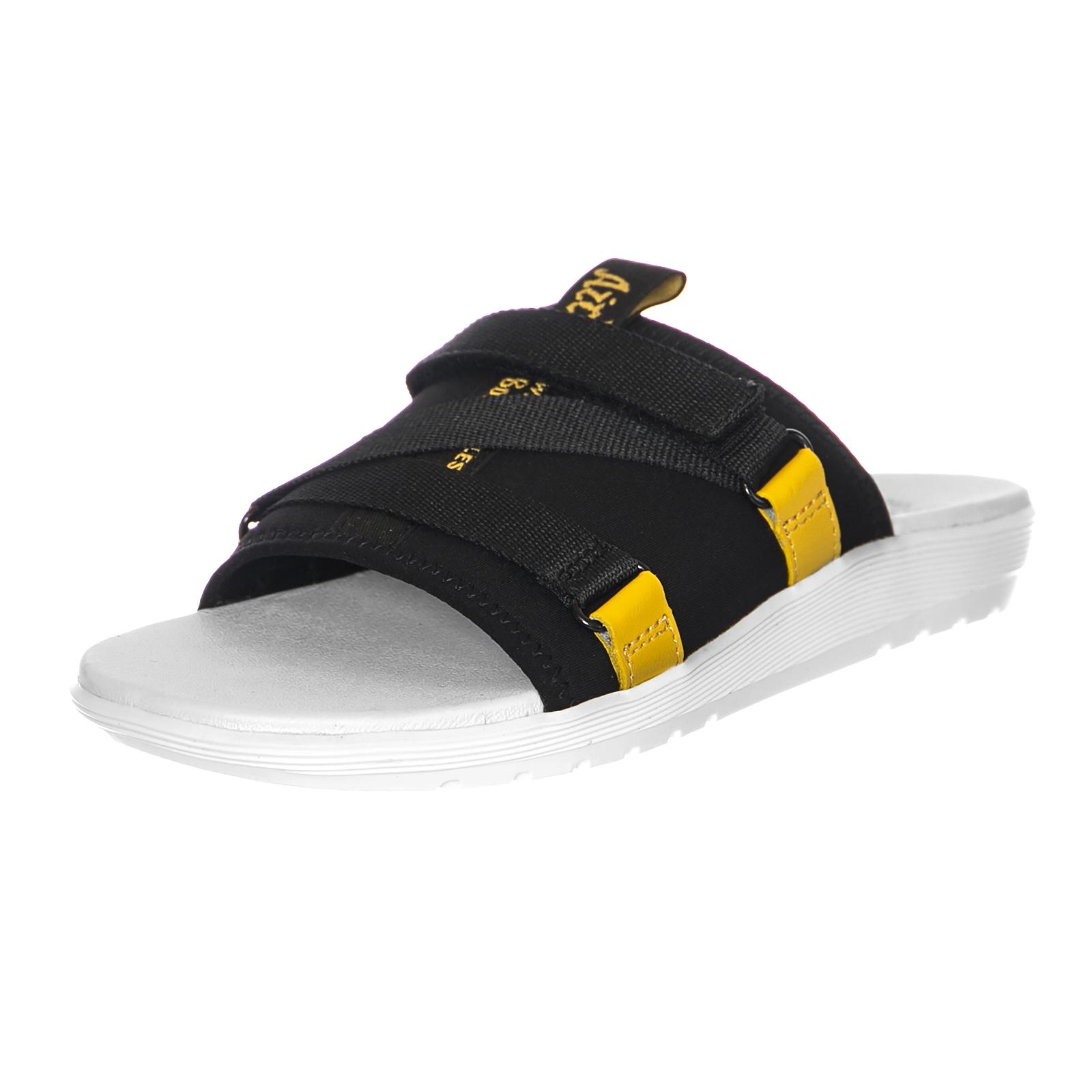 Dr.Martens Sandale Sandale-Nerida Blk/Dms Yellow Neoprene Nero