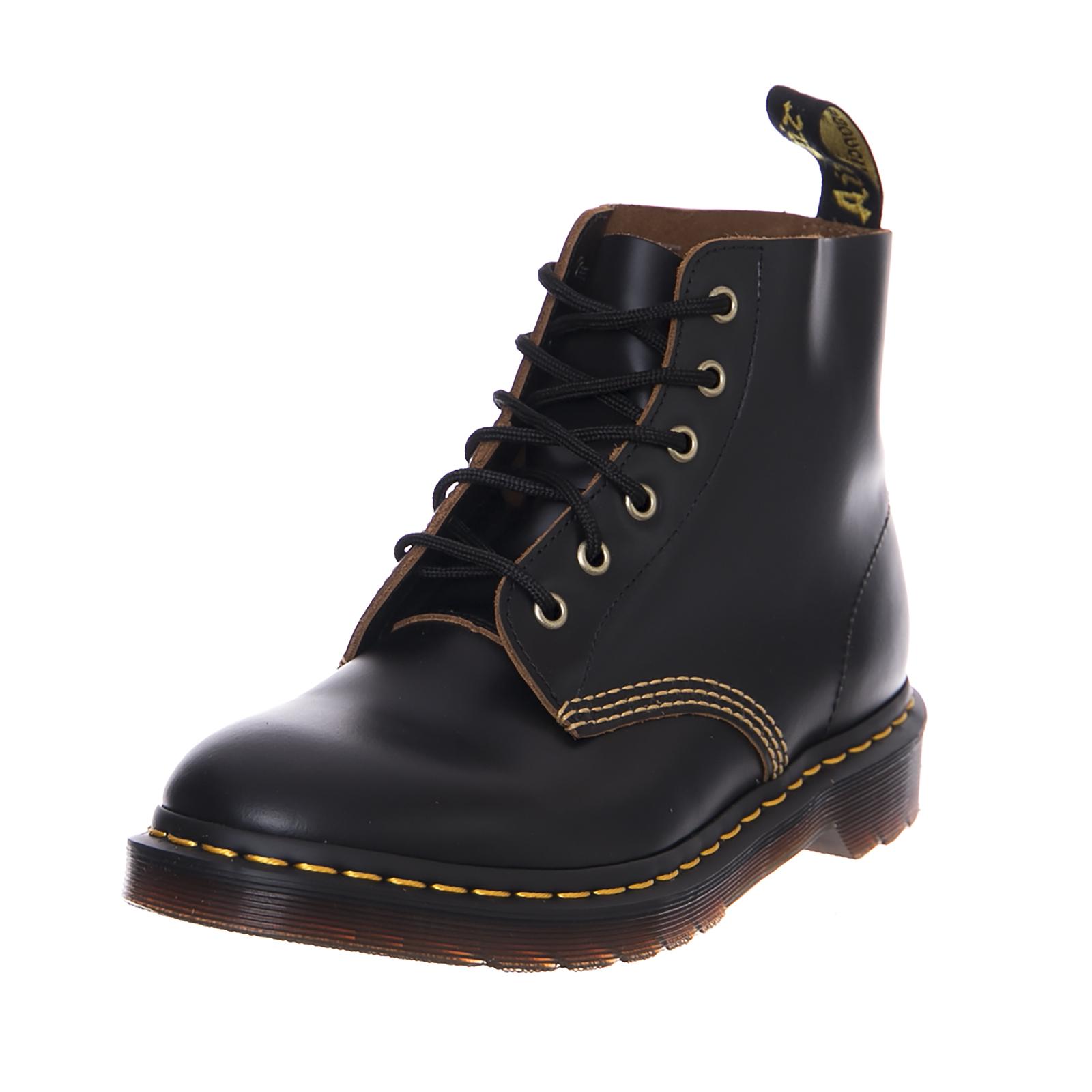 Grandes zapatos con descuento Dr.Martens Stivali 101 Arc Black Vintage Smooth Nero