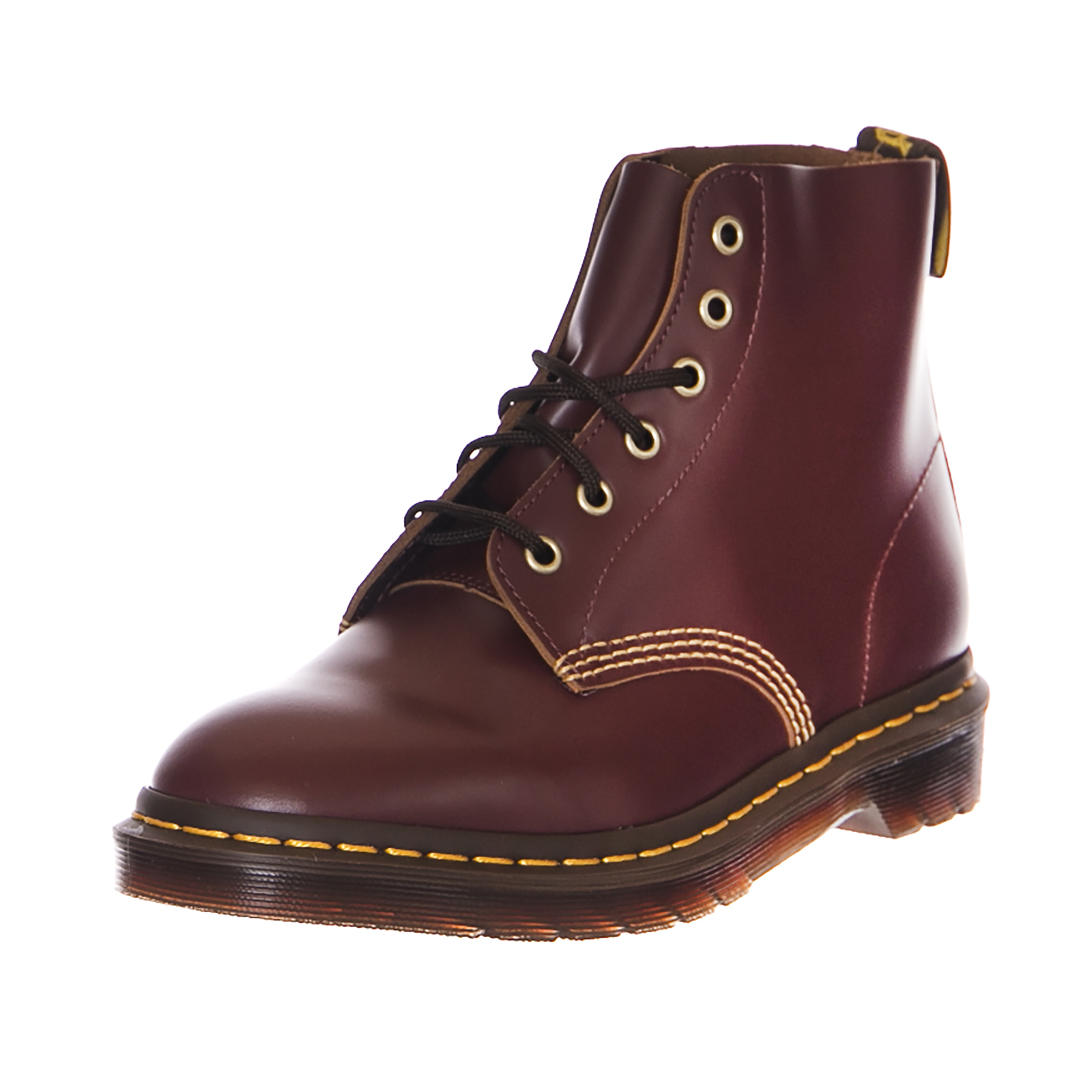 Grandes zapatos con descuento Dr.Martens Botas 101 Arc Oxblood Vintage Liso Burdeos