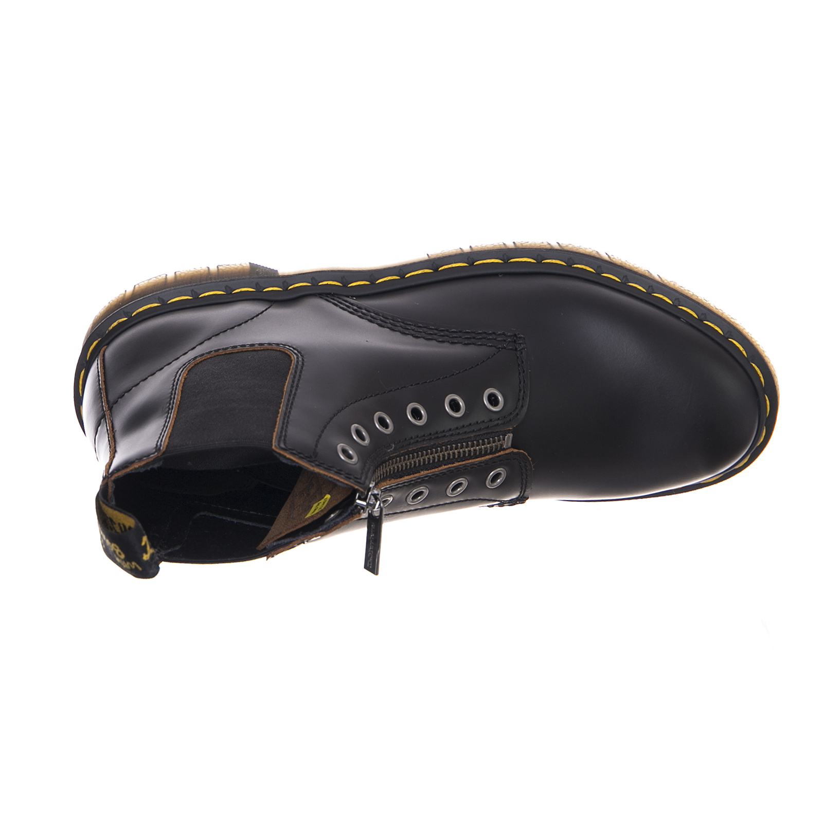 d0452f02 DR.MARTENS BOOTS 101 Gst Black Vintage Smooth Black - $187.37 | PicClick