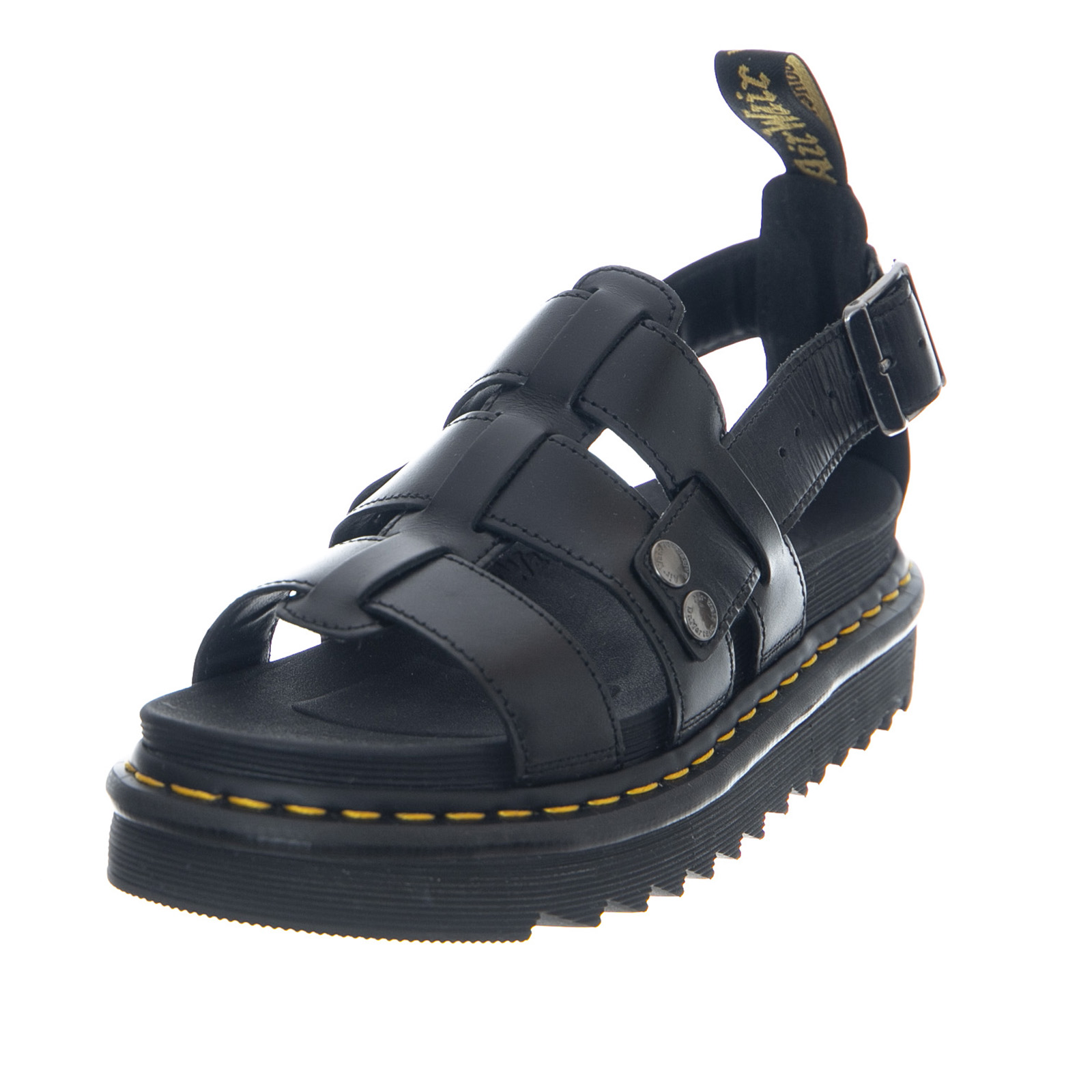 Buy Authentic variety design how to choose Details about Dr.Martens Terry Black Brando - Women's Sandals Black