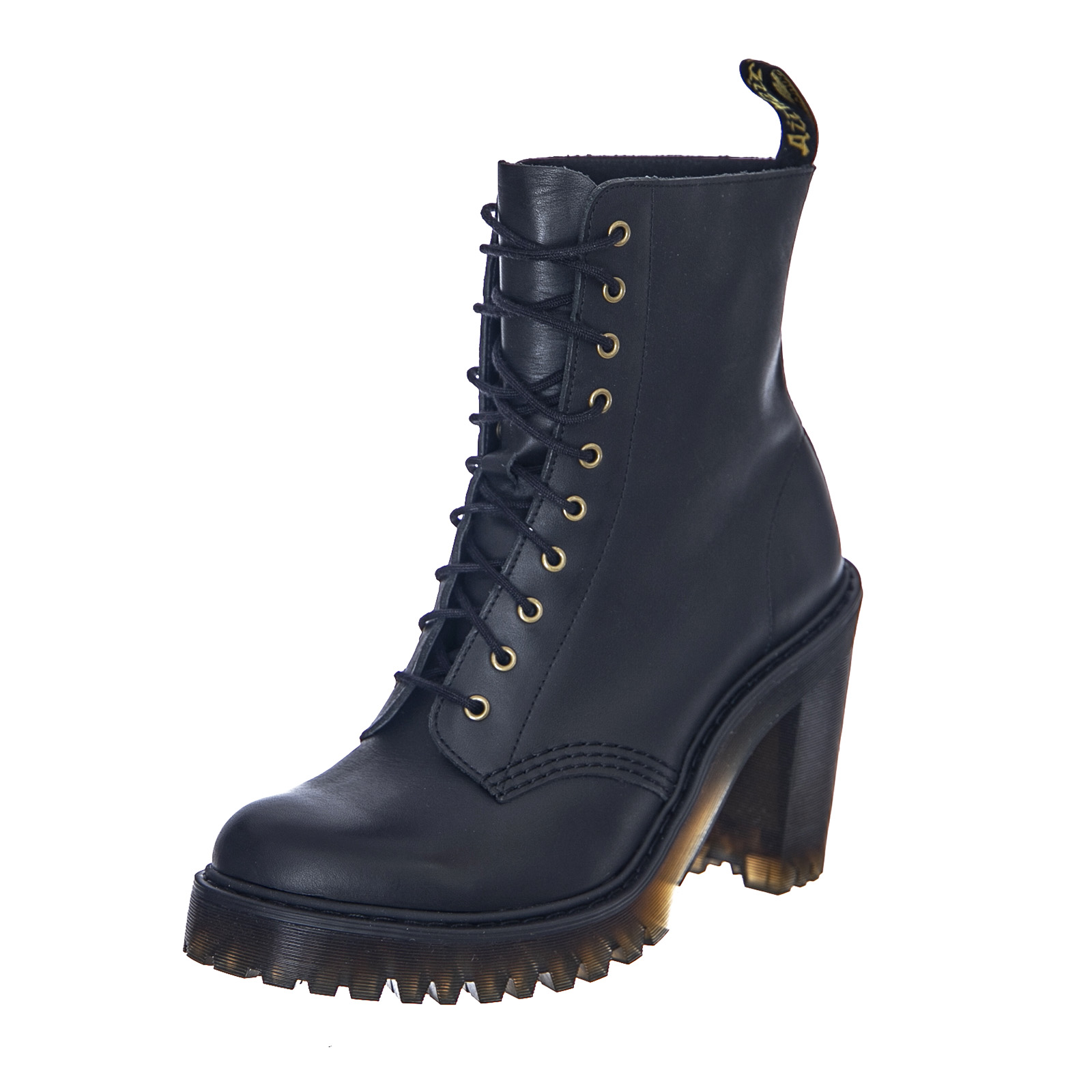 Black Women's Dr about Details Black Boots Martens Kendra Sendal Oyn08wvmN