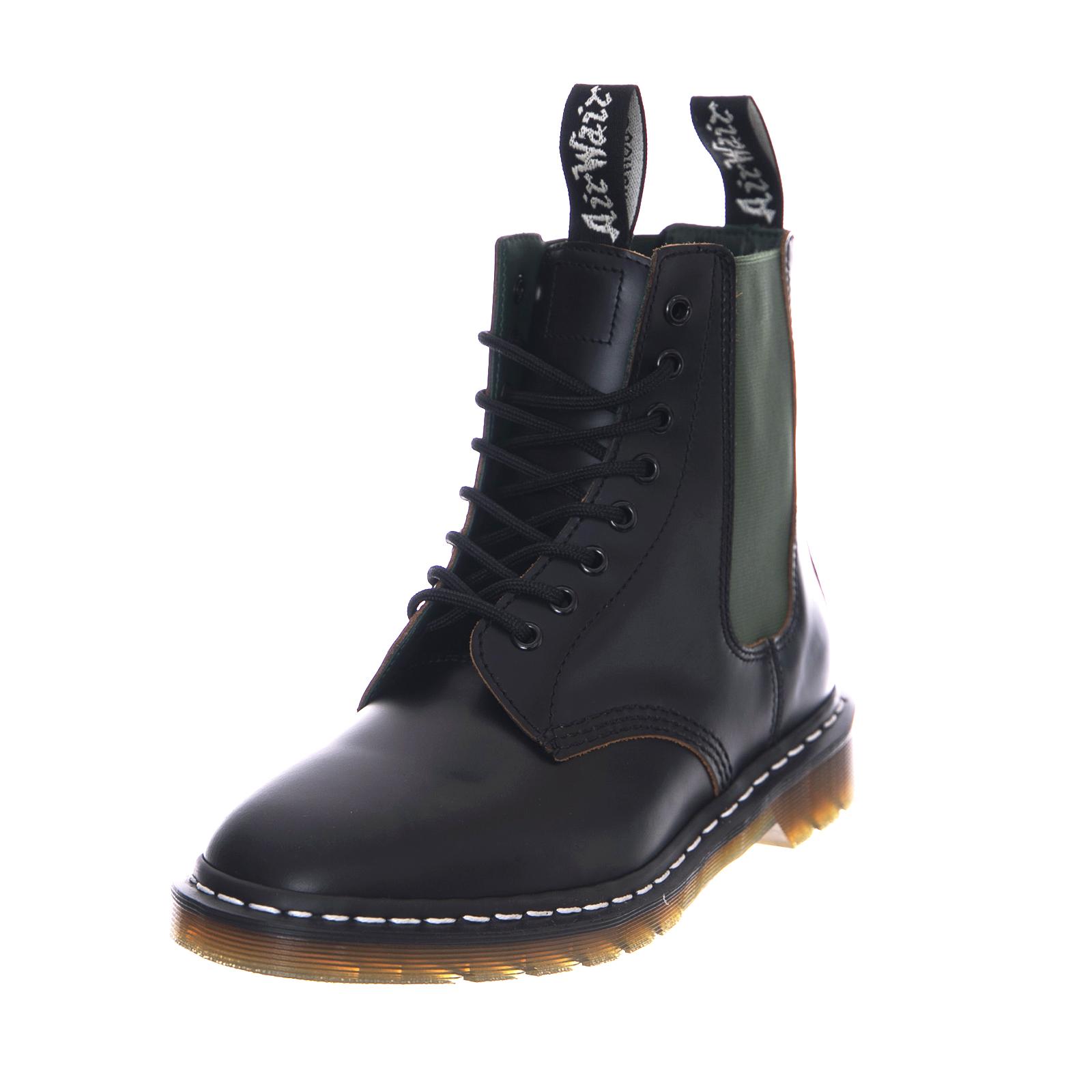 Dr. Martens Boots 1460 Neighborhood Black Vintage Smooth Black | eBay