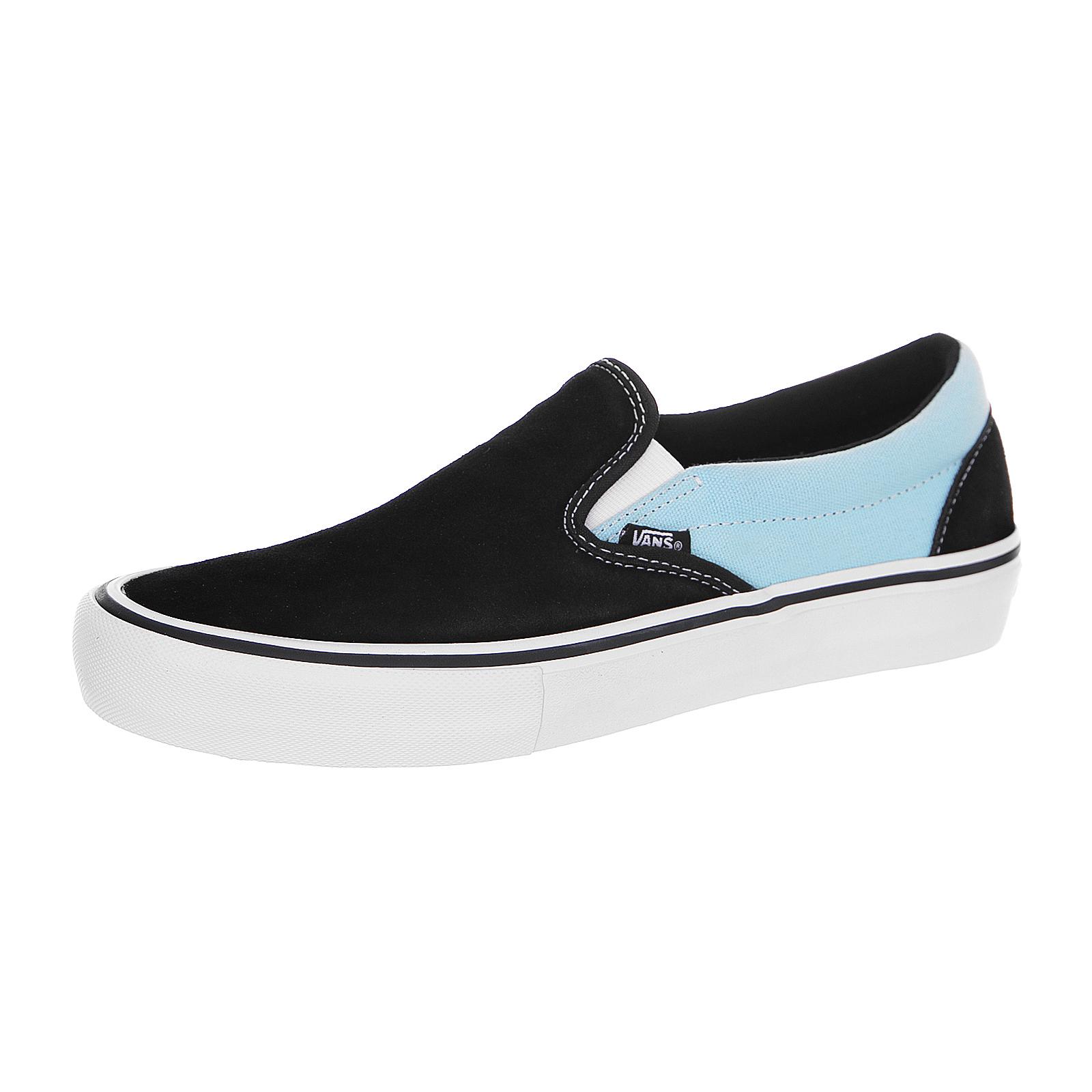 Vans Sneakers Slip-On Pro (Asymmetry) Noir / Bleu / Rose Nero