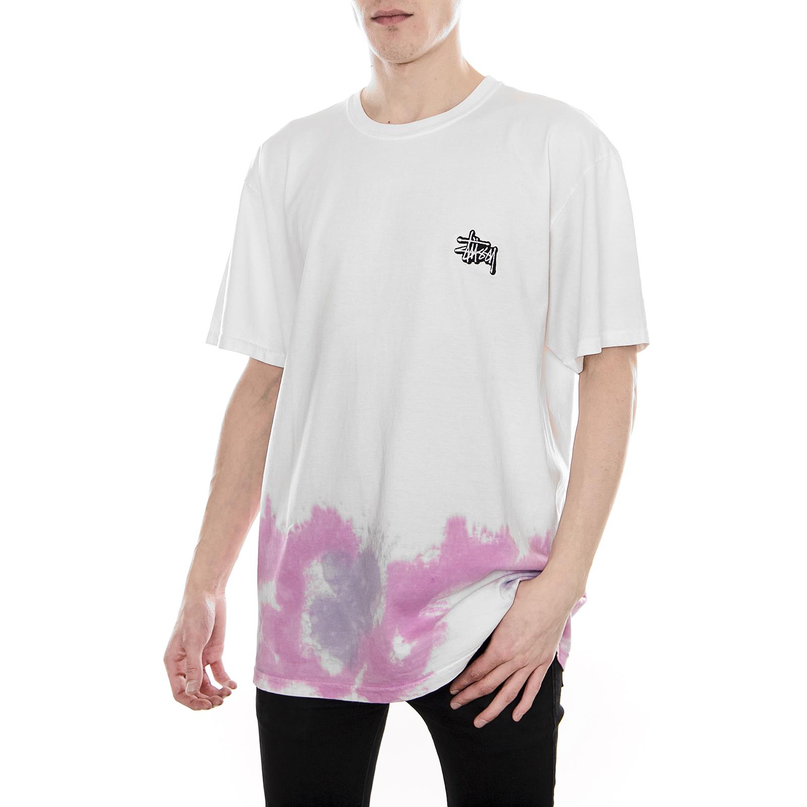 7a16b325b Stussy T-Shirt Stussy Clouds Td Tee Natural White   eBay