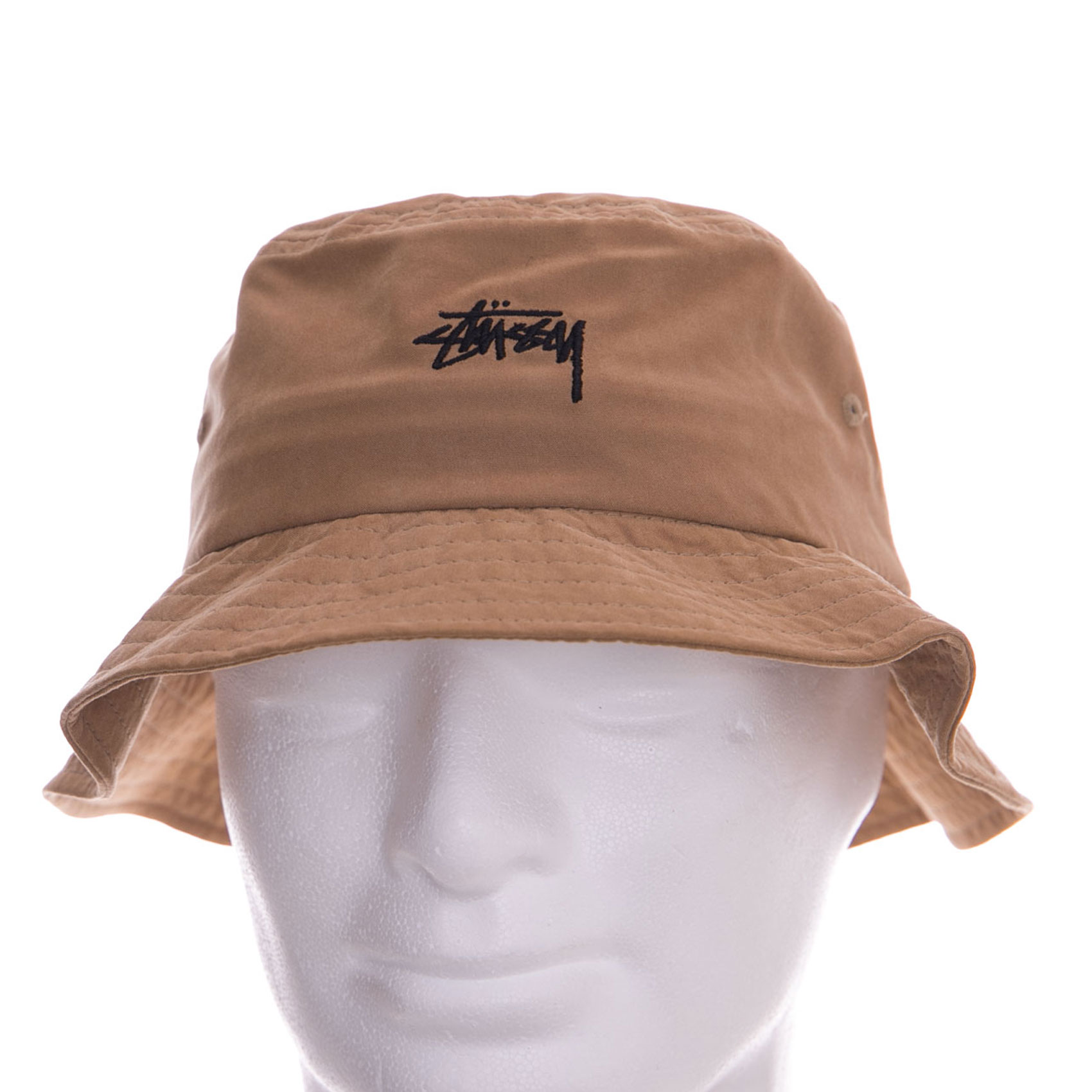 cf94ec2e443 Stussy Cappelli Stock Bucket Hat Camel Marrone