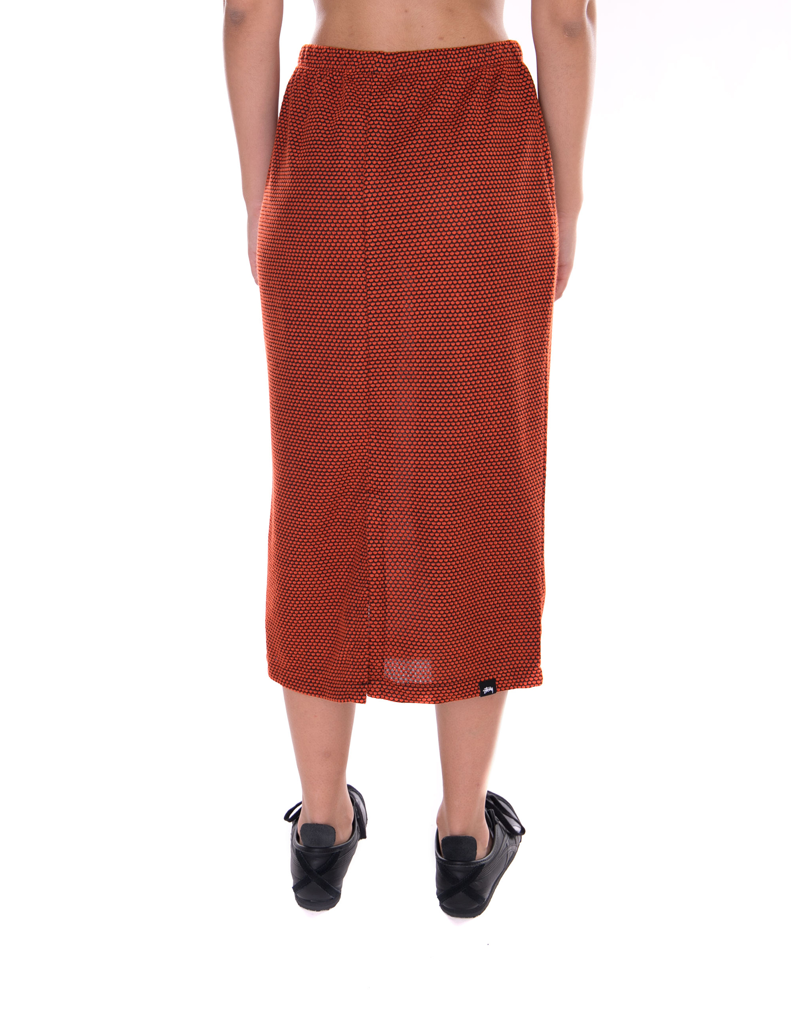 Stussy Gonne Gonne Gonne Faye Tube Skirt arancia Arancione cb3c30