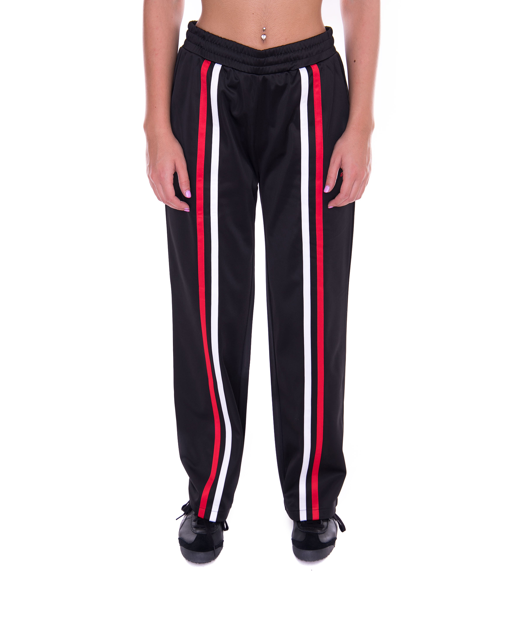 Pant Track Black Rory Bukser Stroped Stussy OBpIqx
