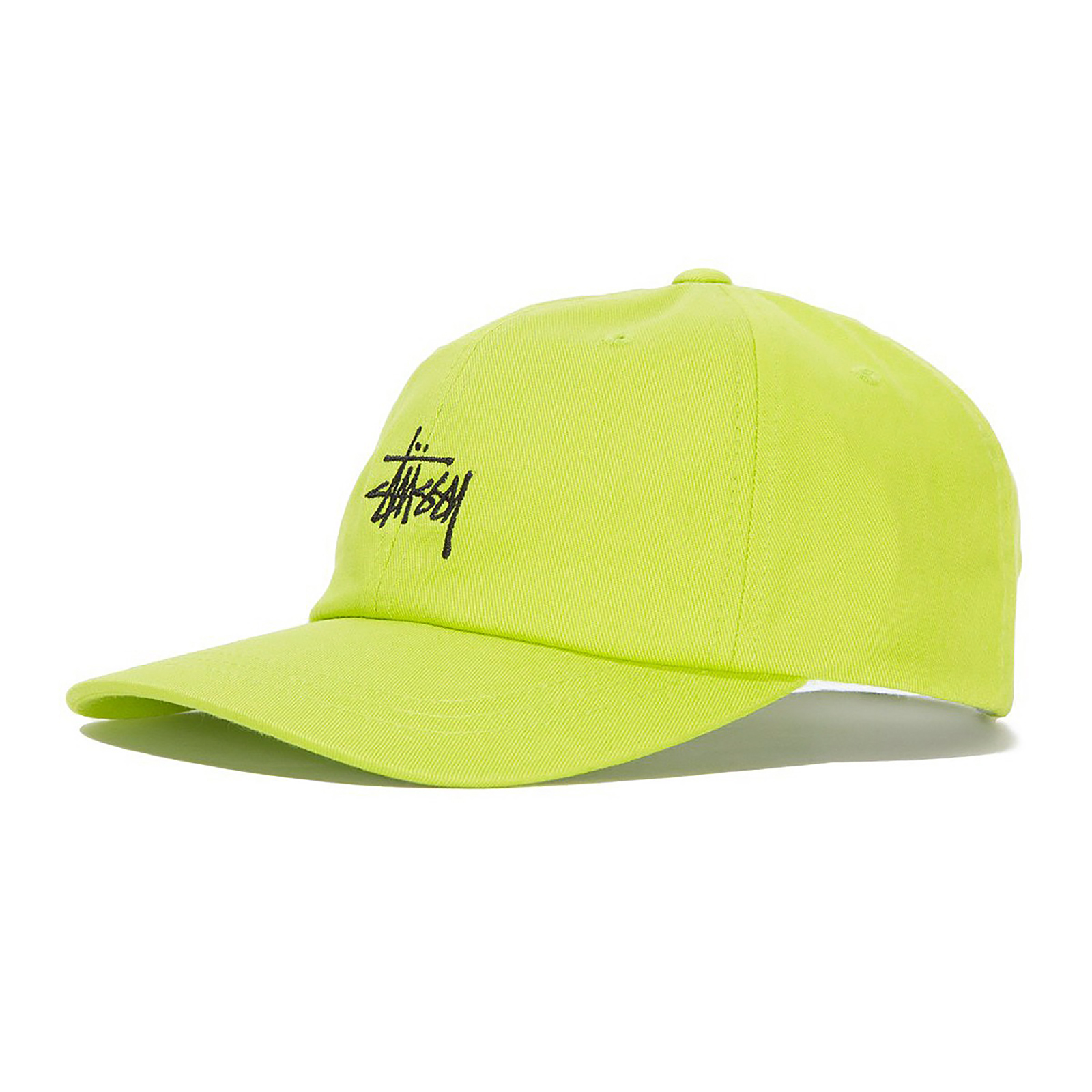 Stussy Low Lime Green Pro Cap Stock Cappelli Verde gxrwf8qgRn