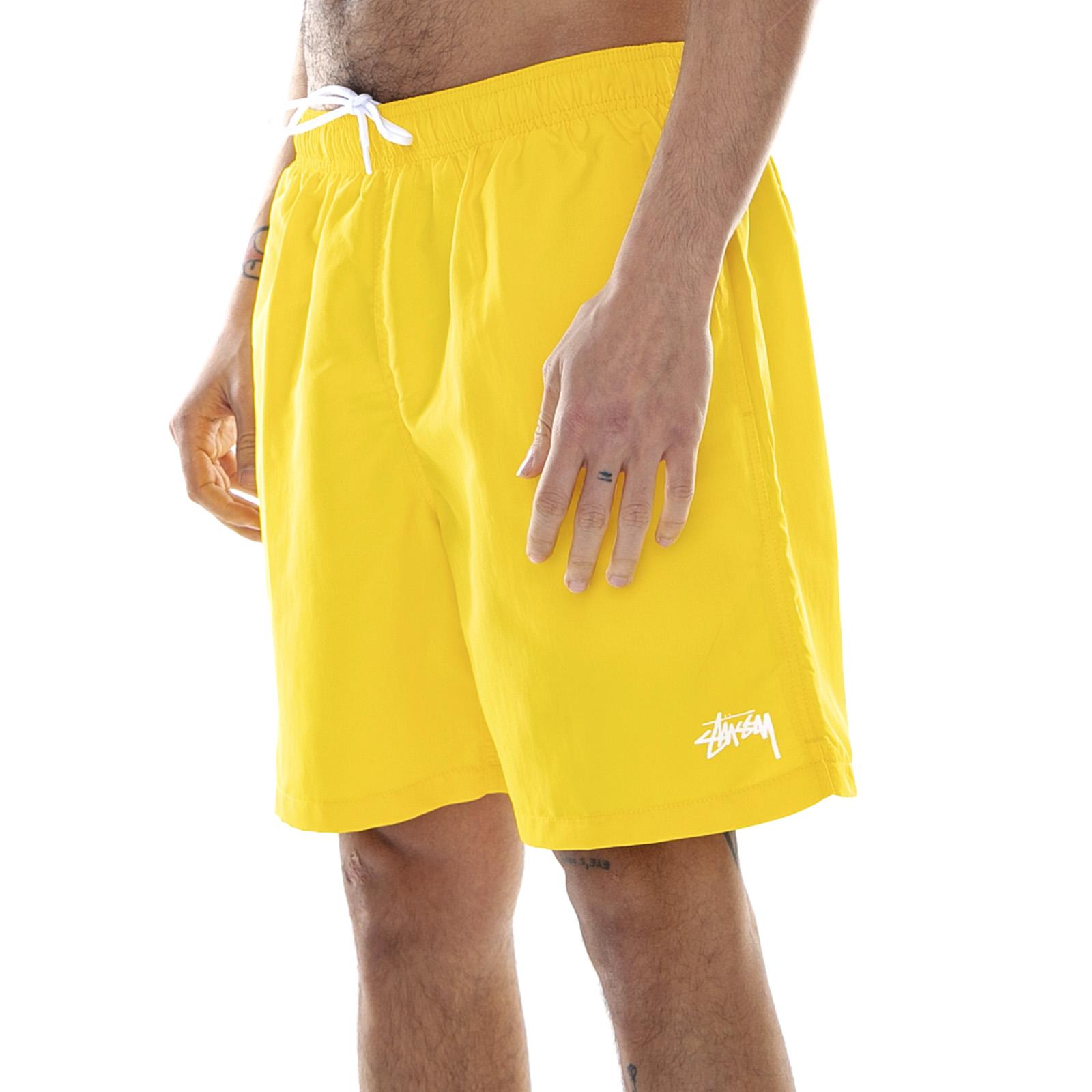 14af96f9c088 Stussy Stock Water Shorts - Yellow - Costume Da Bagno Uomo Giallo | eBay