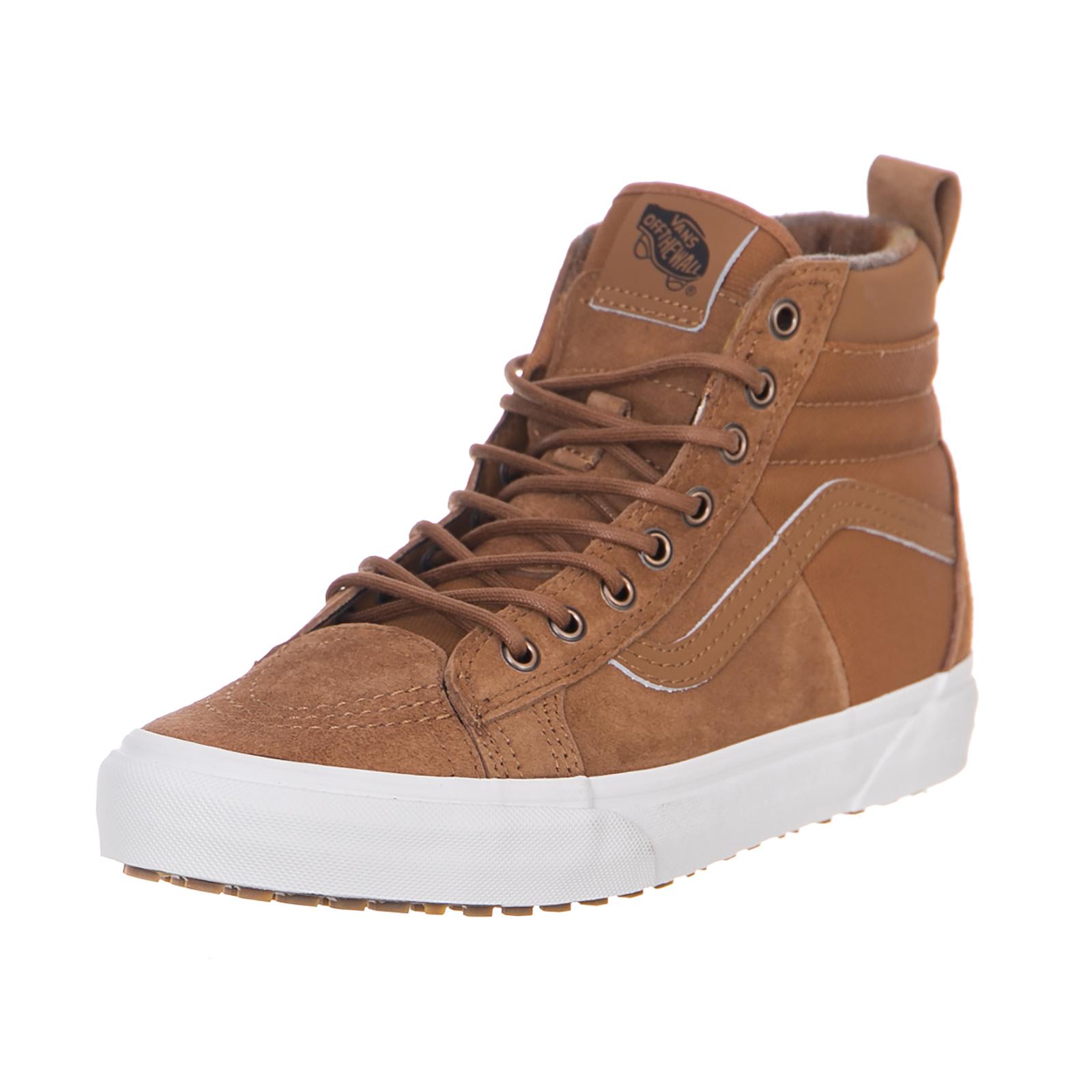 Vans 46 Sneakers Ua Sk8-Hi 46 Vans Mte Dx (Mte)Glazedgingr Flannel Marrone Scarpe classiche da uomo f30fff