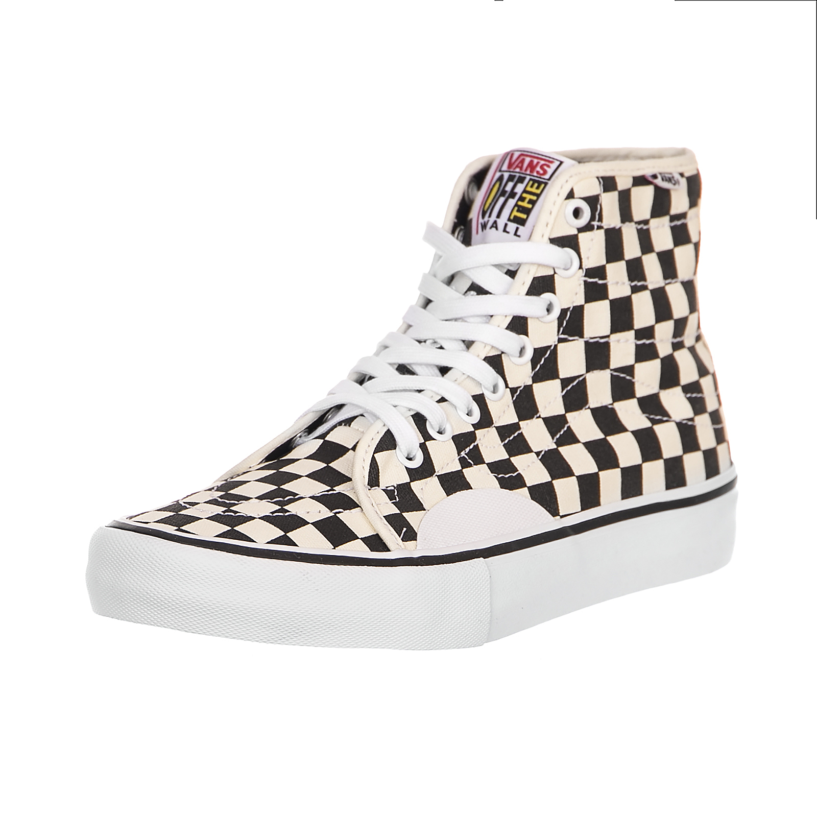 289588ab034005 Vans Sneakers Mn Av Classic High P (Chckrbrd)Bl White