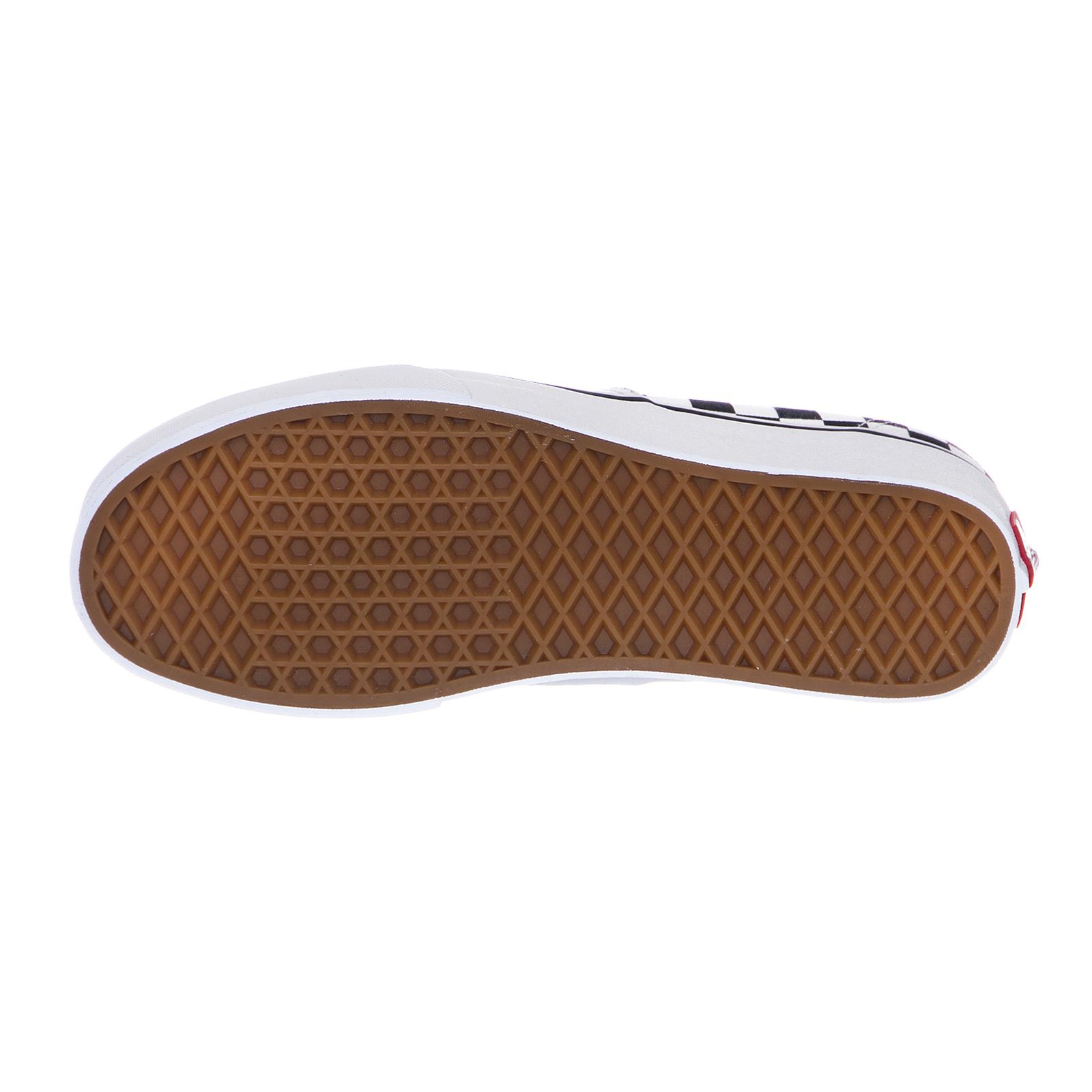 Zapatos promocionales para hombres y mujeres Vans Zapatillas Ua Auténtico (Mezclar Checker Multicolor