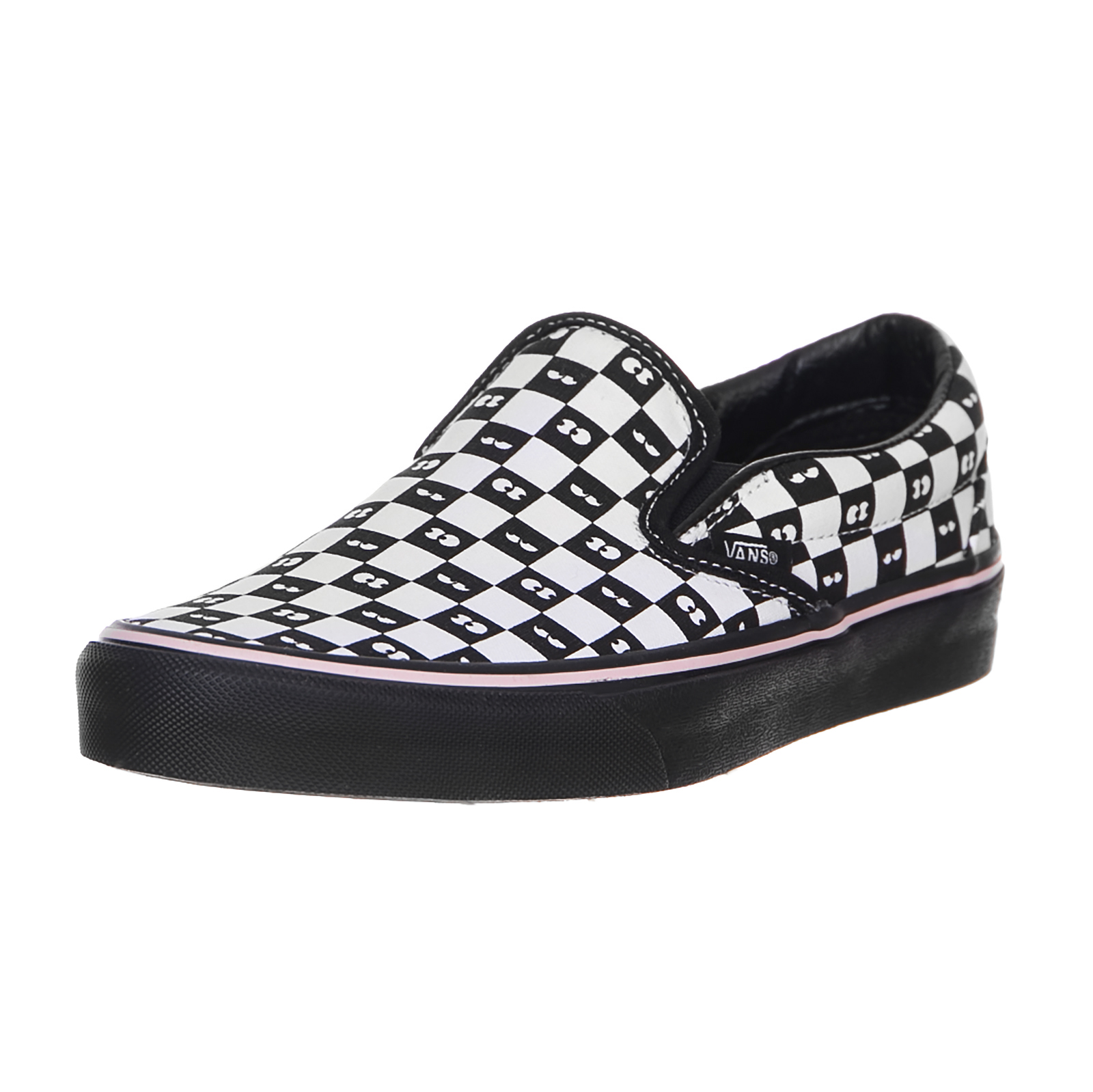 Vans Sneakers Classic Slip-On Lazy Oaf, Checkerboard/Black Multicolor