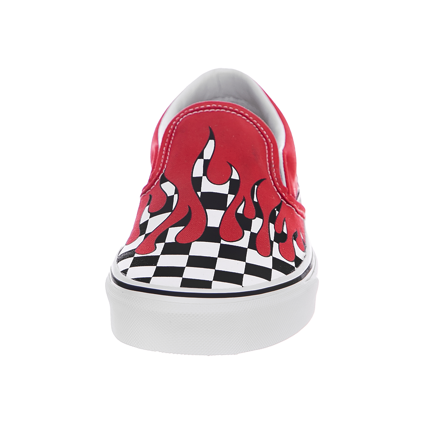 afdaae2280 Vans Sneakers Classic Slip-On (Checker Flame) Racing Red Rosso