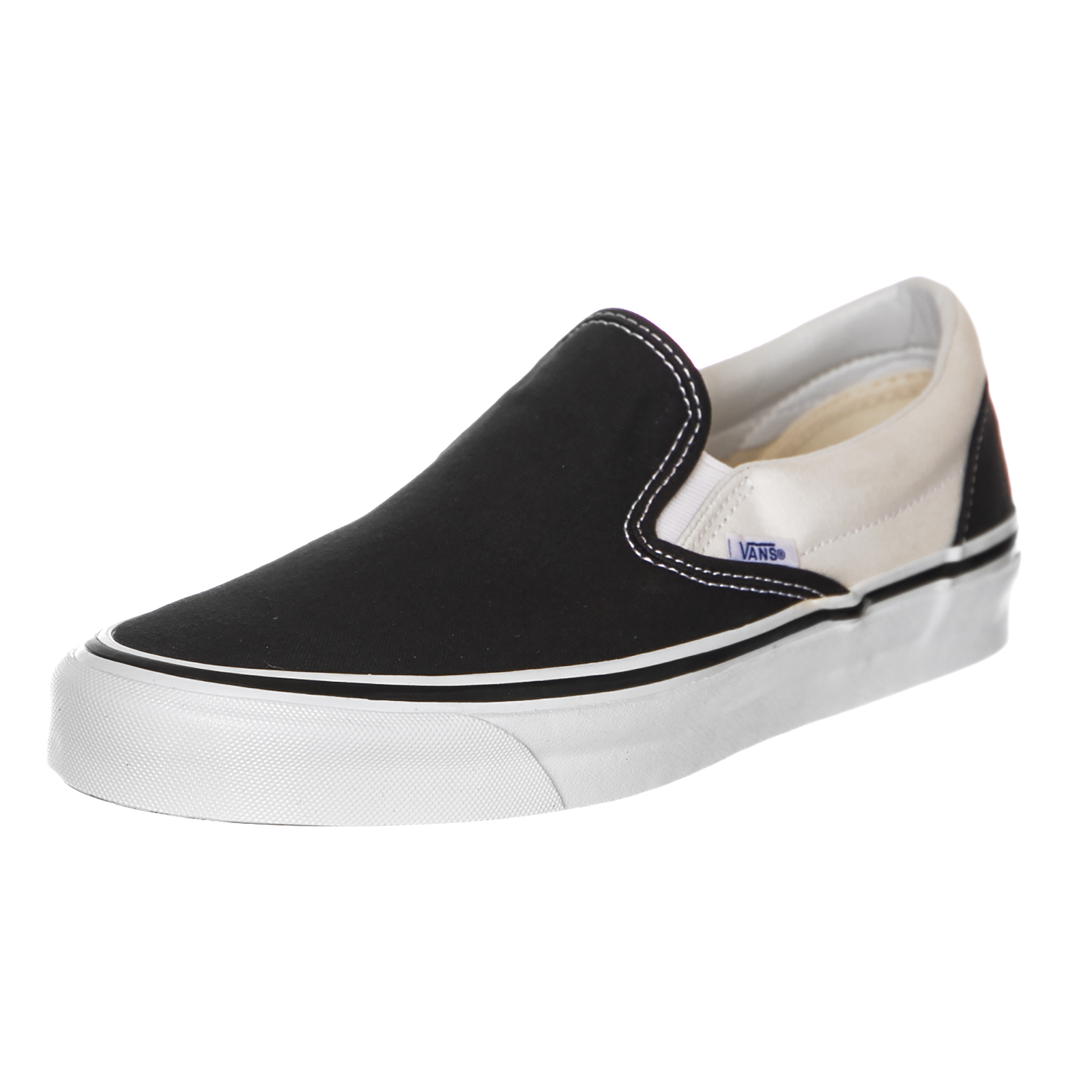 Vans Sneakers Classic Slip-On 9 (Anaheim Factory) Black   White Black 1 of  6Only 1 available ... c242eca83