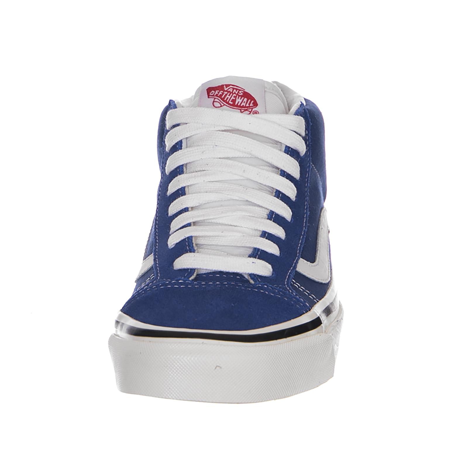 Vans Baskets Milieu / Skool 37 Dx (Anaheim Usine) Bleu / Milieu Blanc bleu 8037af