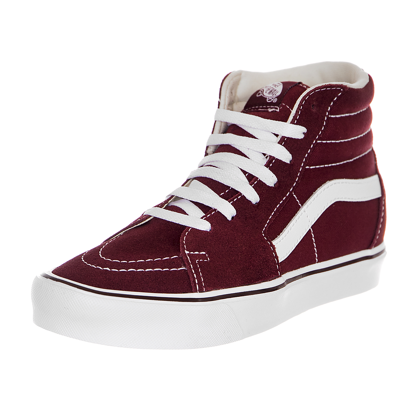 ad32bc1d10 Vans Sneakers Ua Sk8-Hi Lite (Suede Canvas Burgundy