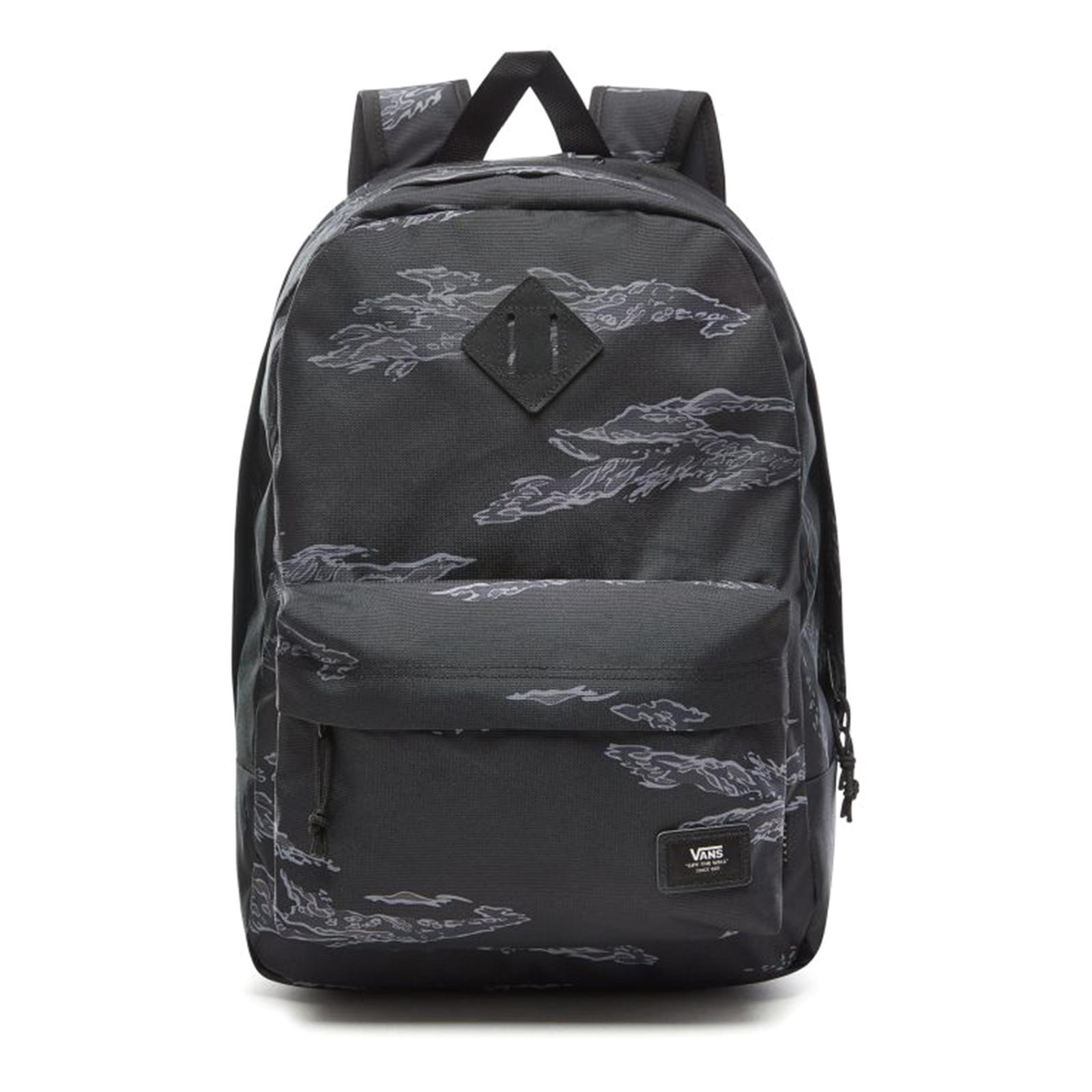 2e660ff5d8 Vans Mn Old Skool Plus - Tiger Camo - Backpack Black | eBay