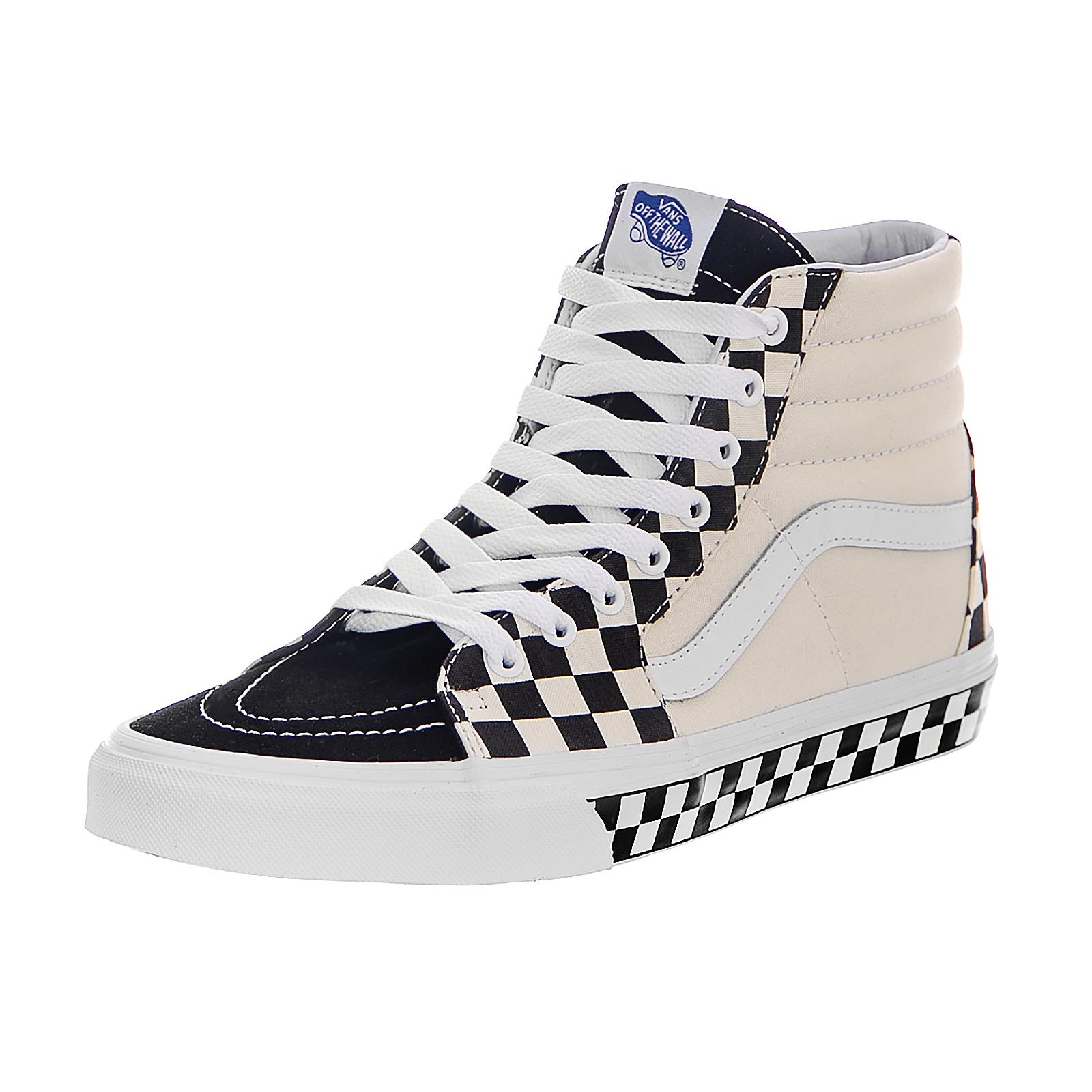 Vans Baskets Ua Sk8-Hi (Checker Sidewall) Noir Noir