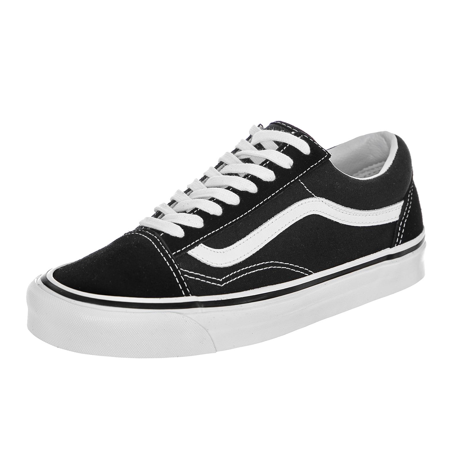 Détails sur Vans Sneakers Old Skool 36 Dx (Anaheim Factory) Black True White Nero