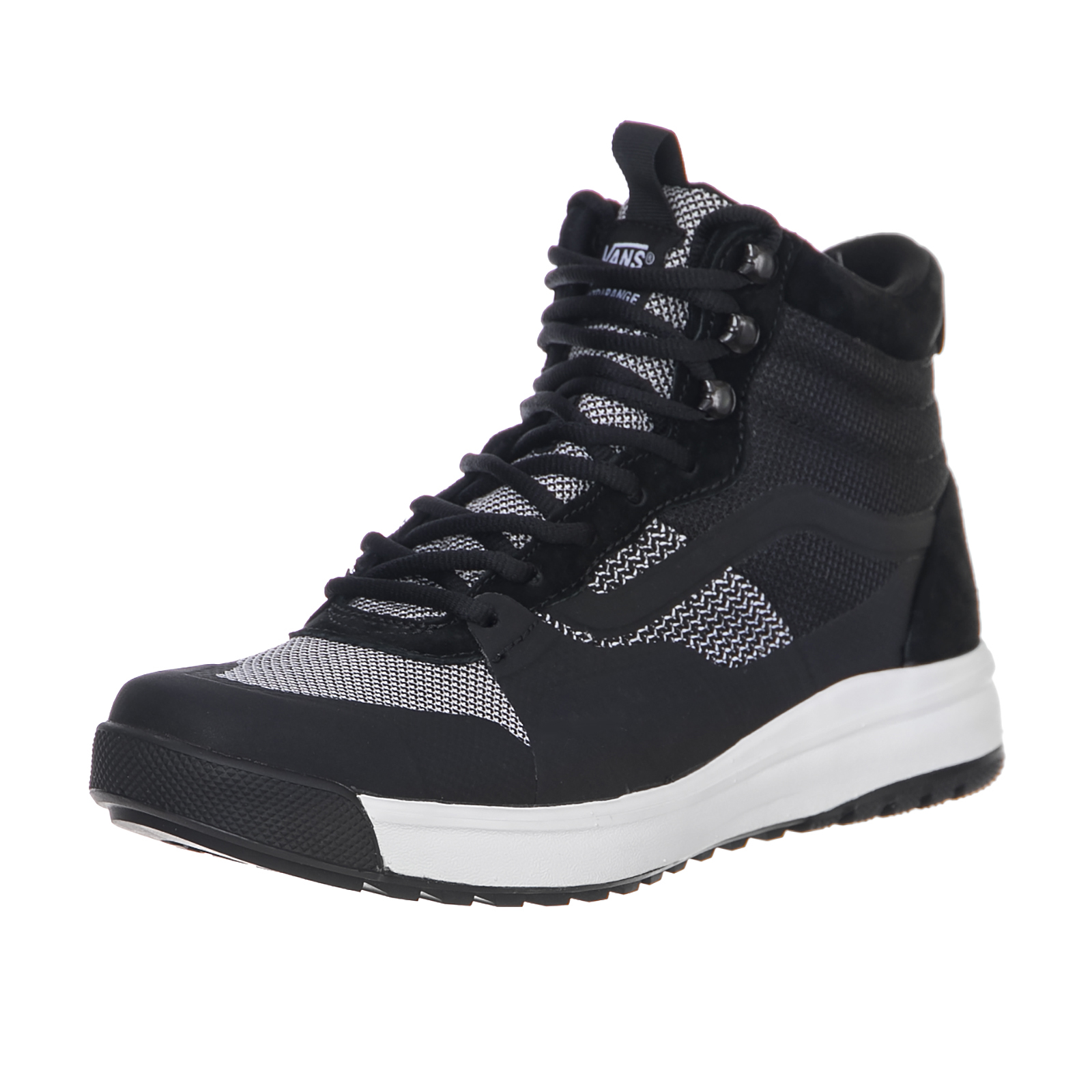 Vans Sneakers Ua Ultrarange Hi Dx (Yc Knit) Bl Black
