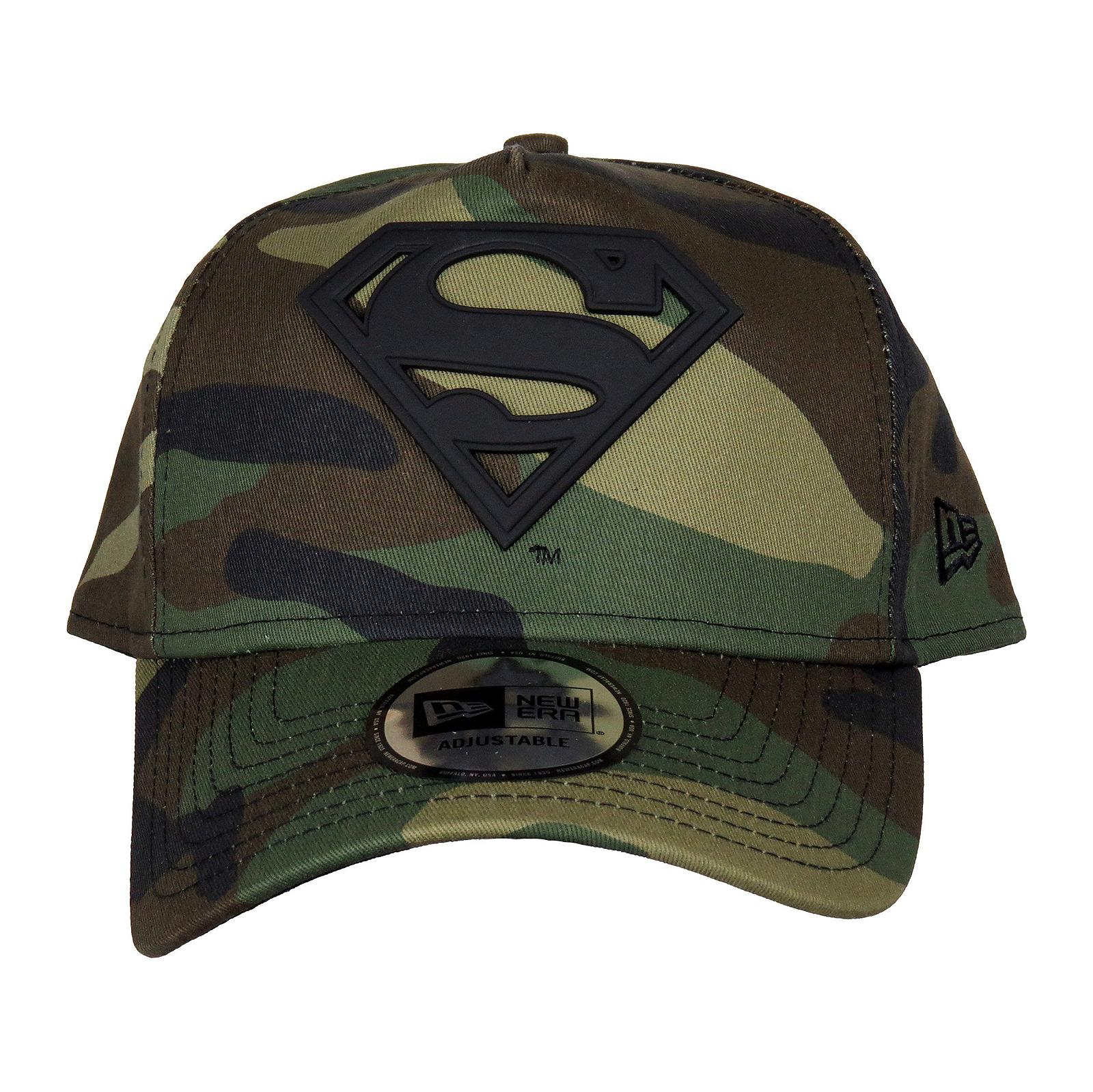 New-Era-Cappelli-Camo-Metal-Hero-A-Frame-Superman-Multicolor