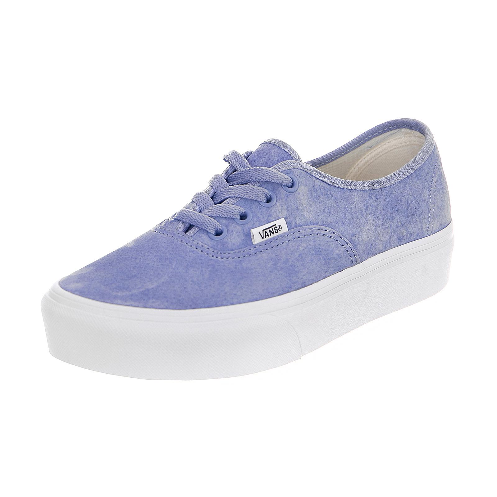 2d9285d1eb49 Vans Sneakers U Authentic Platform 2.0 (Pig Suede) Lavender Lustre/True  White Azzurro