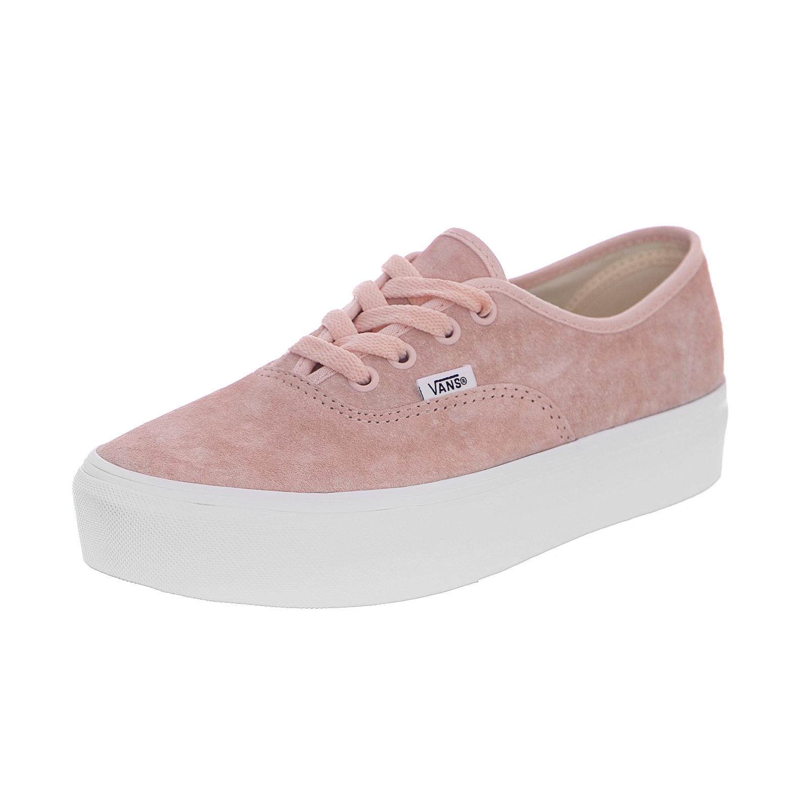 vans rosa platform