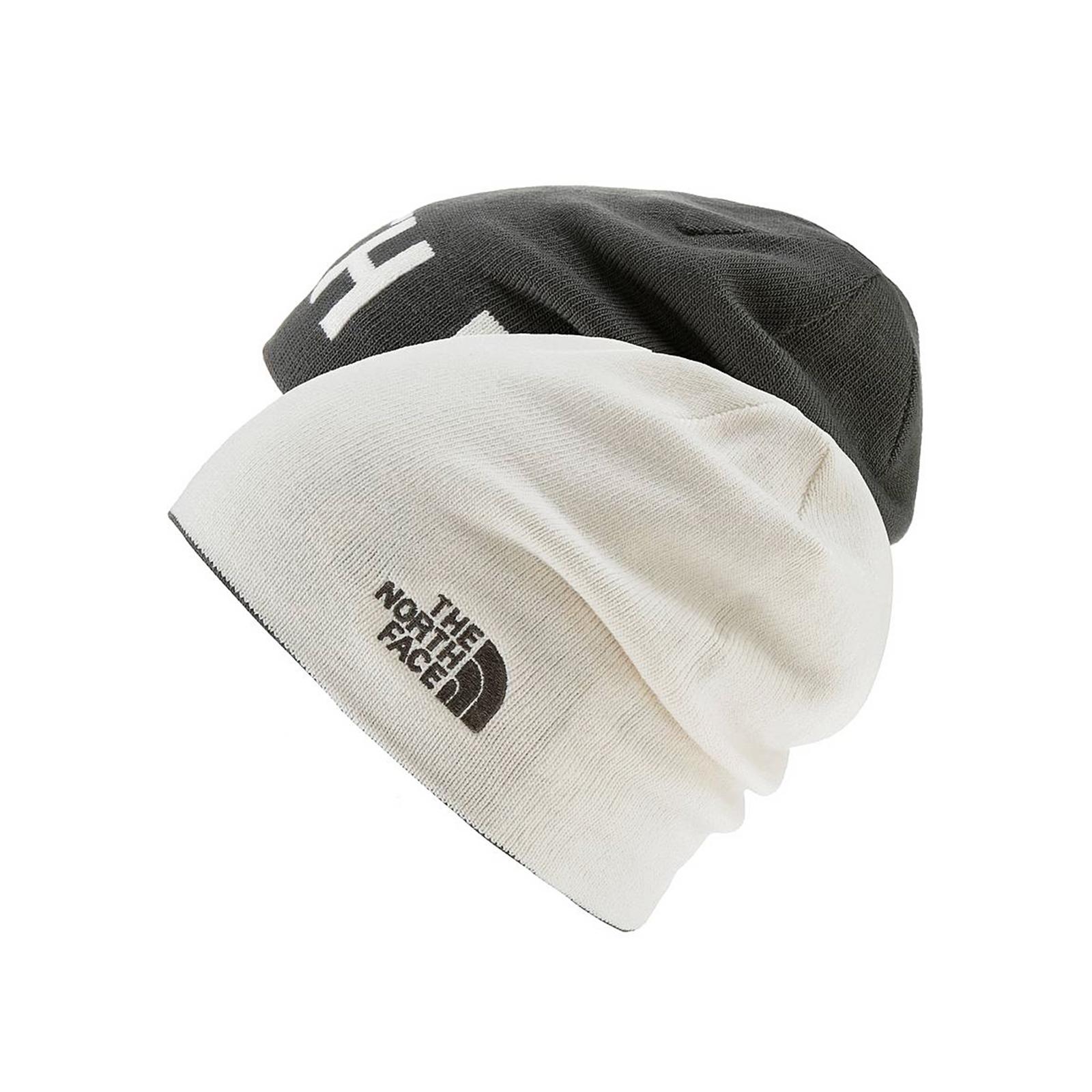 The North Face Cappelli Tnf Rvsbl Banner Benie White Black Multicolor 5e8b02ea3a97