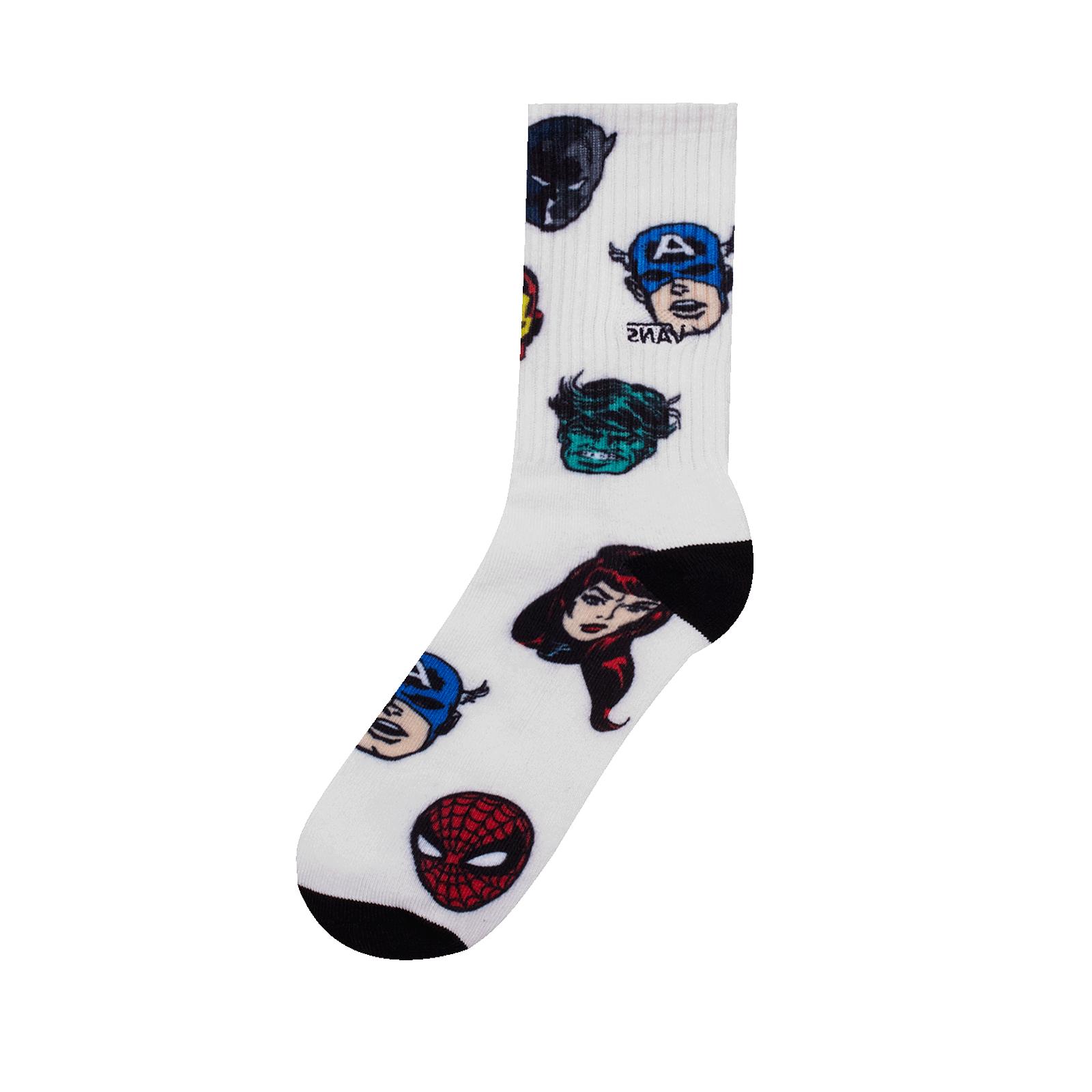 Details zu Vans Socken Mn Vans X Marvel Sock (Marvel) Character Grau