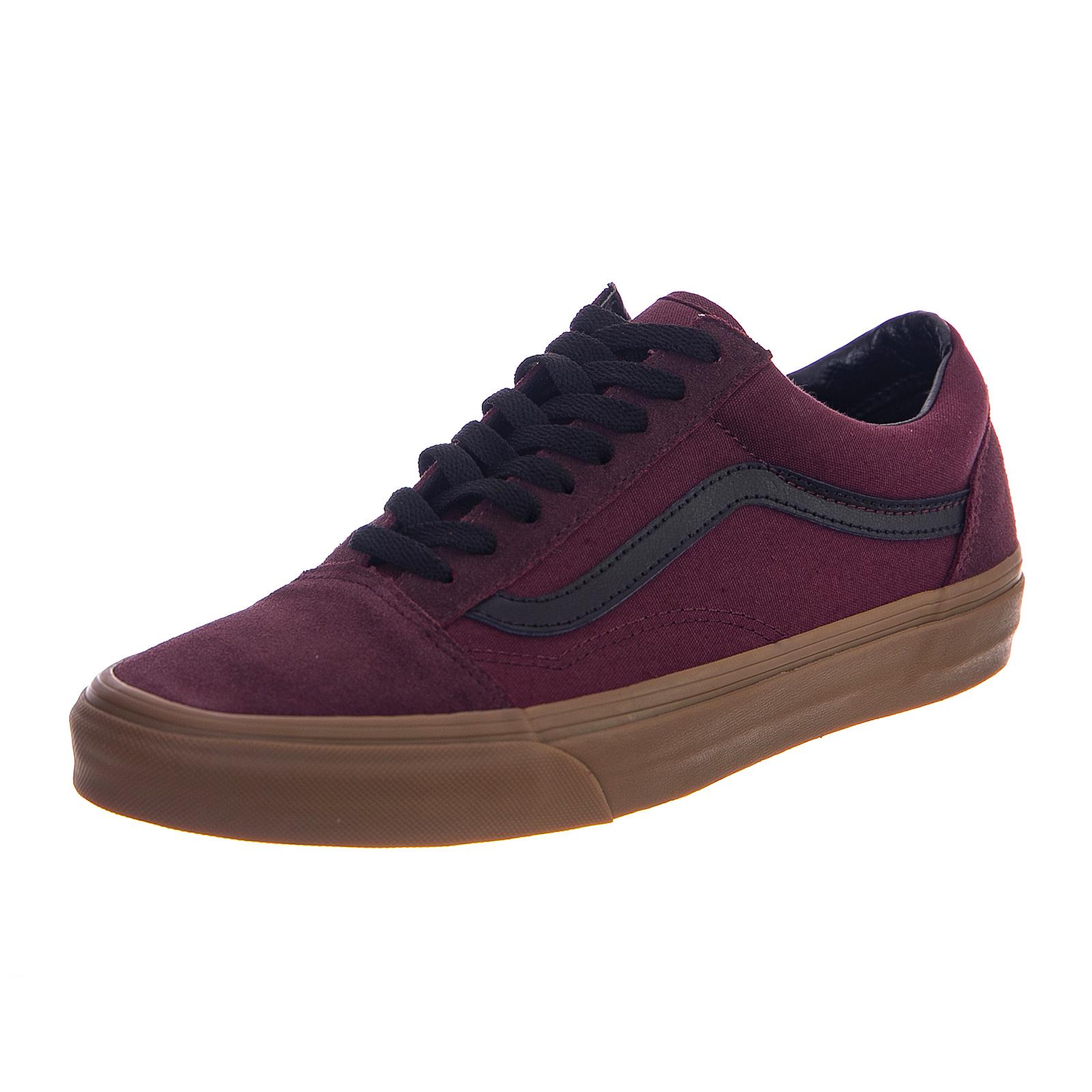 Vans Sneakers Ua Old Skool (Gum Outsole) C Bordeaux  e3f12e0cc4