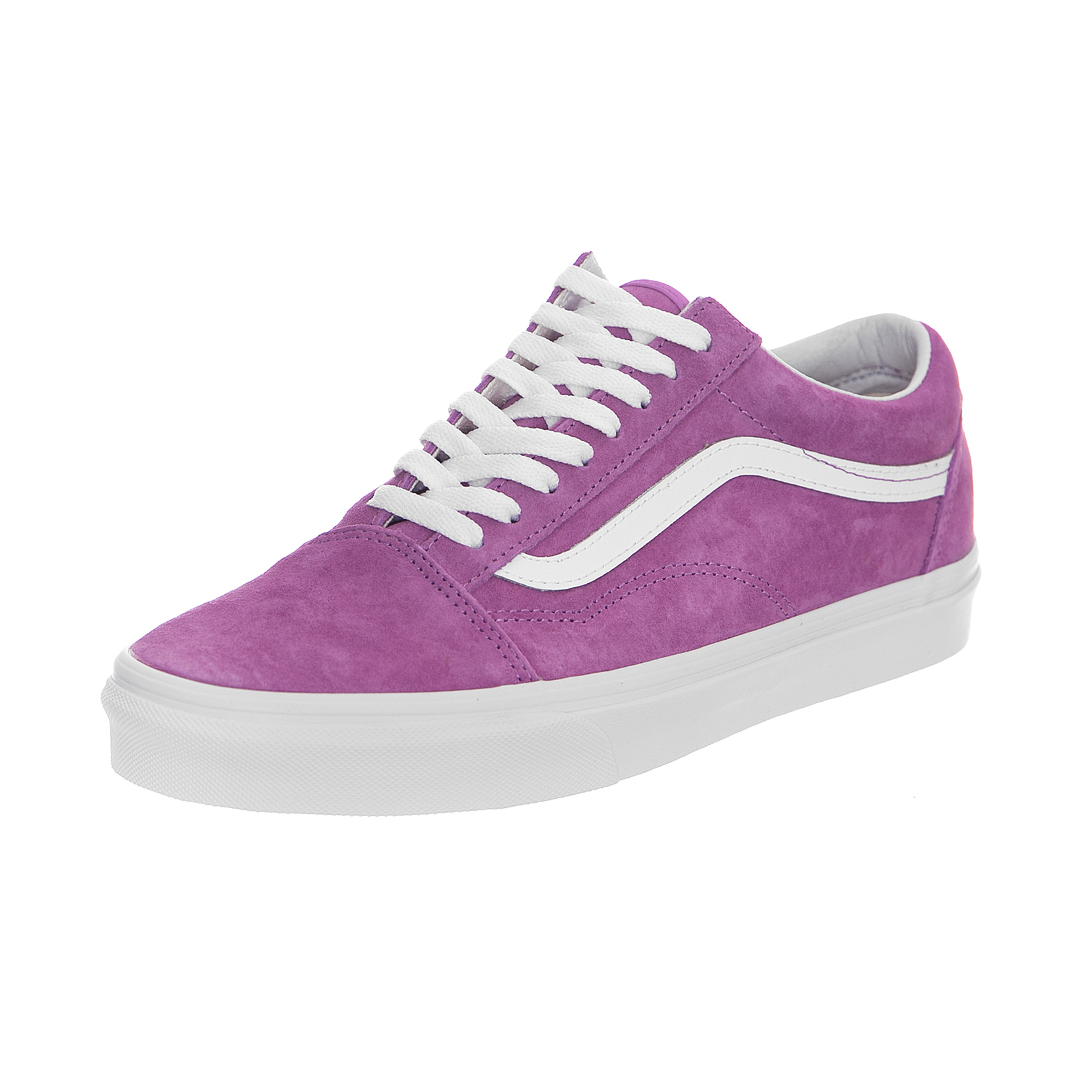 aef6ed6c57436e Vans Sneakers Ua Old Skool (Pig Suede) Violet Ttue White Violet